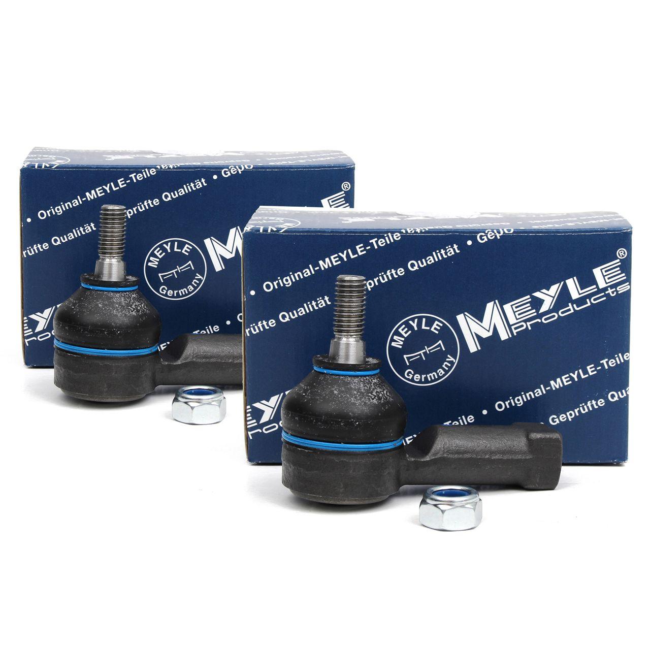 2x MEYLE Spurstangenkopf für Opel Combo Corsa A B C Tigra Smart ForTwo 451 vorne