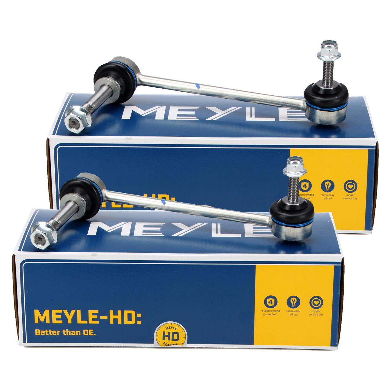 2x MEYLE HD VERSTÄRKT Koppelstange PORSCHE 997 Boxster Cayman 987 981 982 vorne / hinten