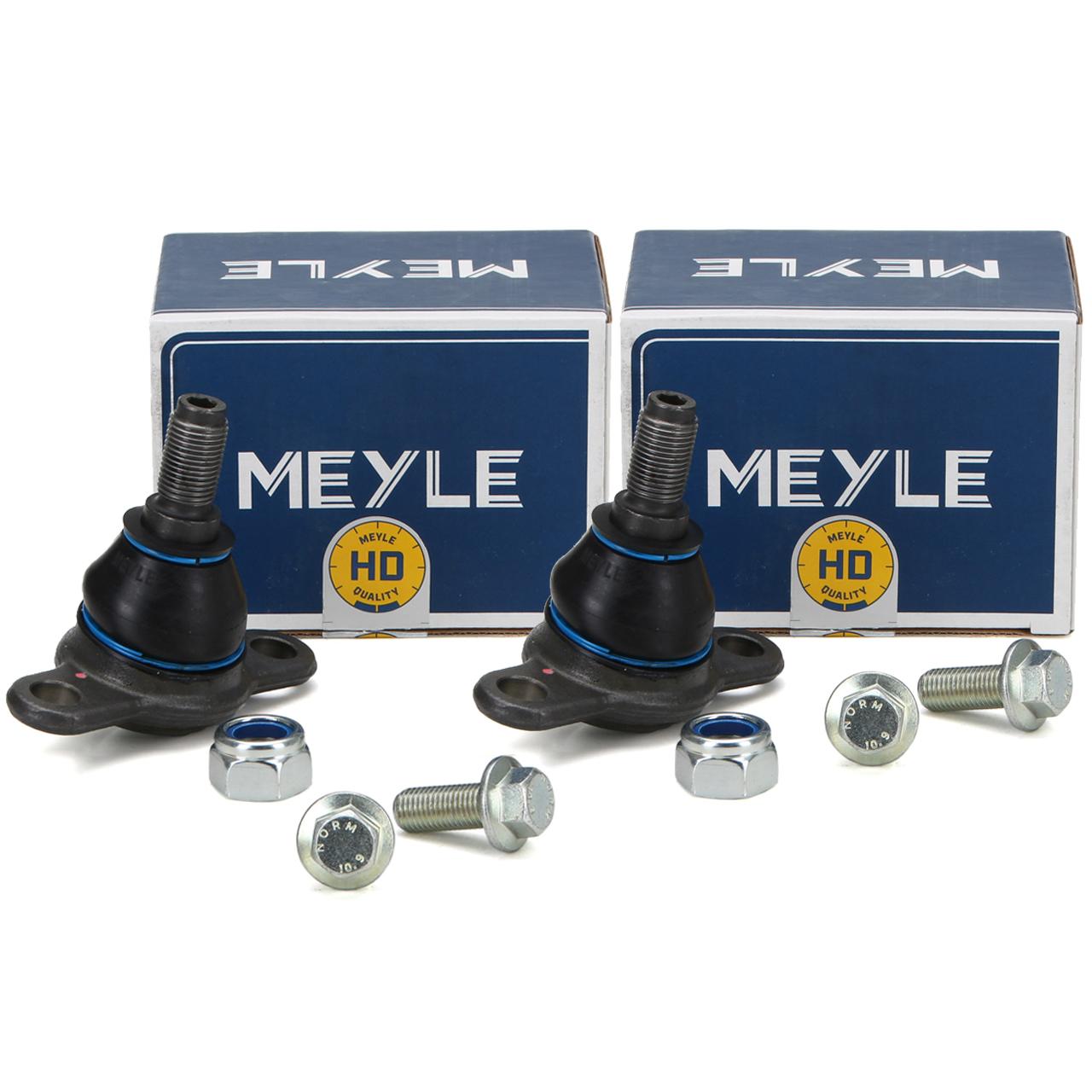 2x MEYLE HD Traggelenk für VW TRANSPORTER T4 ab Fgst.-Nr vorne unten 7D0407361