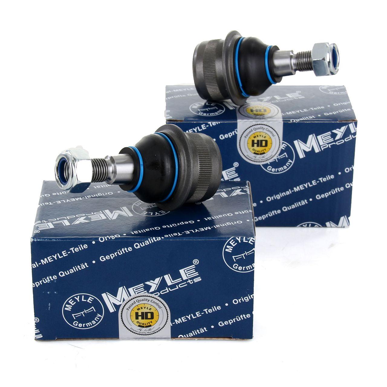 2x MEYLE 0160100002HD VERSTÄRKT Traggelenk MERCEDES W211 W220 C219 R230 vorne unten außen