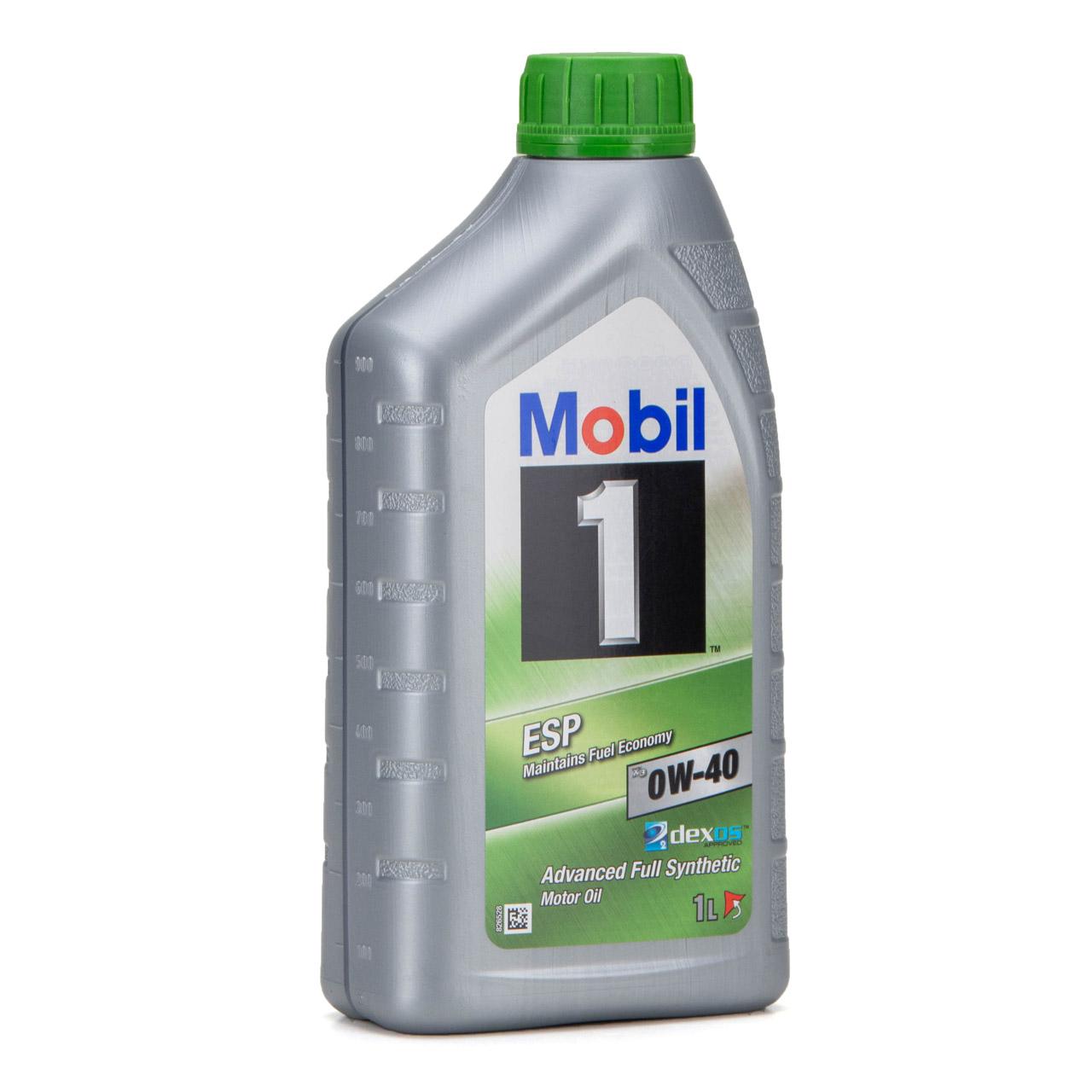 Mobil 1 ESP X3 C40 Motoröl Öl 0W-40 0W40 dexos2 PORSCHE C40 VW 511.00 - 6 Liter
