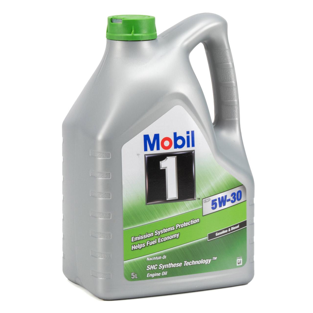 Mobil 1 ESP Motoröl Öl 5W-30 5W30 dexos2 PORSCHE C30 VW 504.00/507.00 - 5 Liter