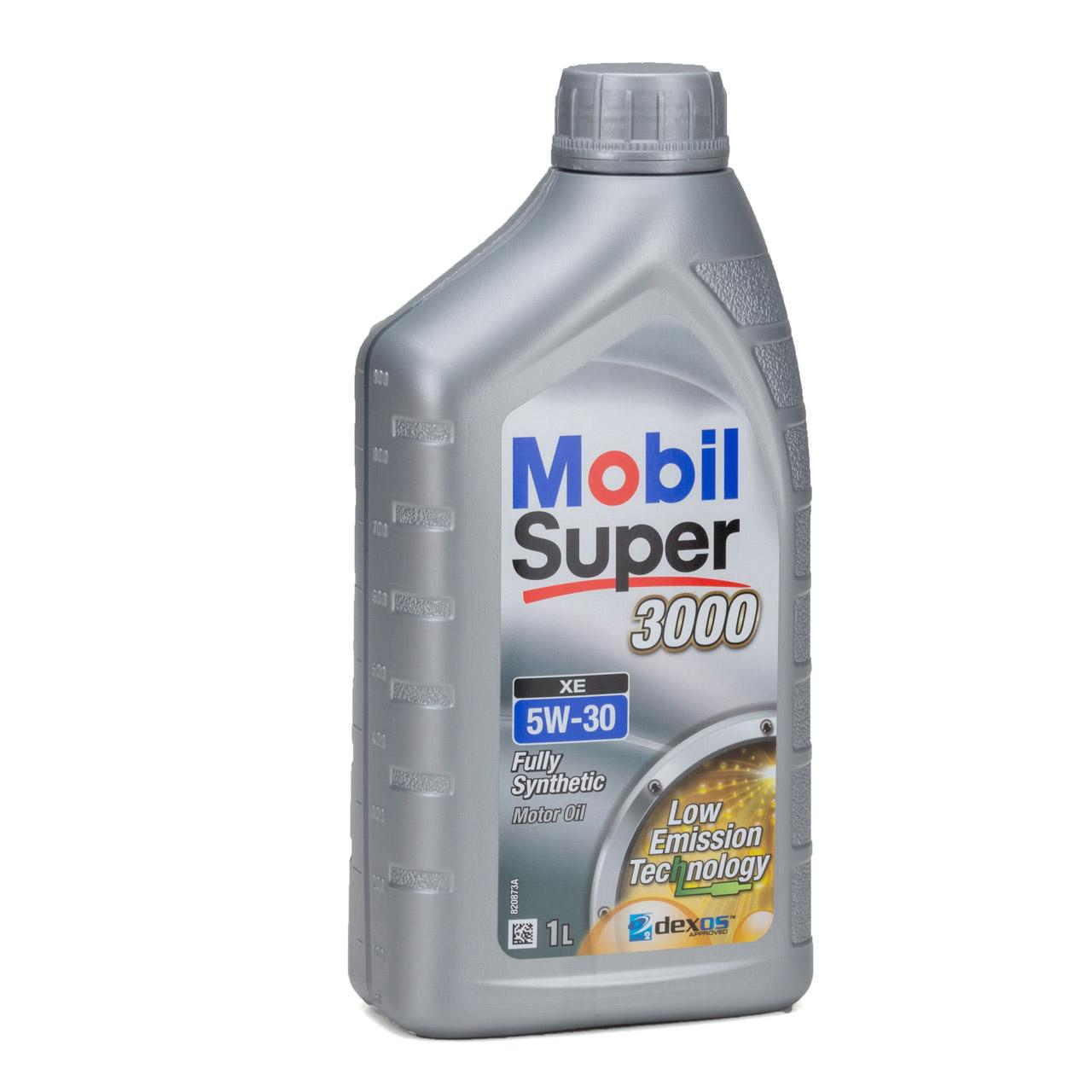 Mobil 3000 SUPER XE Motoröl Öl 5W-30 5W30 dexos2 VW 505.00/505.01 - 6L 6 Liter