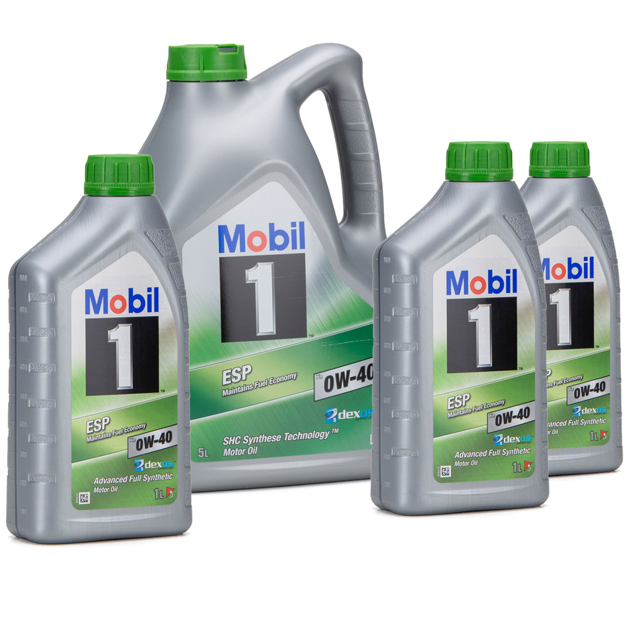 Mobil 1 ESP X3 C40 Motoröl Öl 0W-40 0W40 dexos2 PORSCHE C40 VW 511.00 - 8 Liter