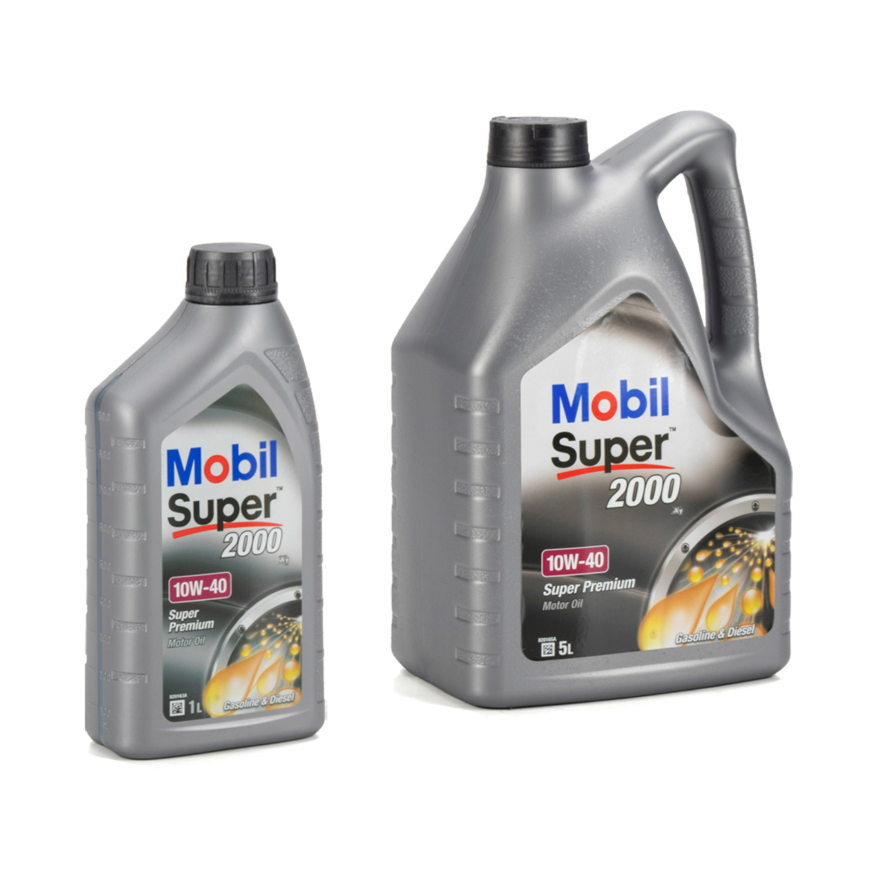 Mobil SUPER 2000 X1 10W40 Super Premium Motoröl Öl VW 501.01/505.00 - 6L 6 Liter