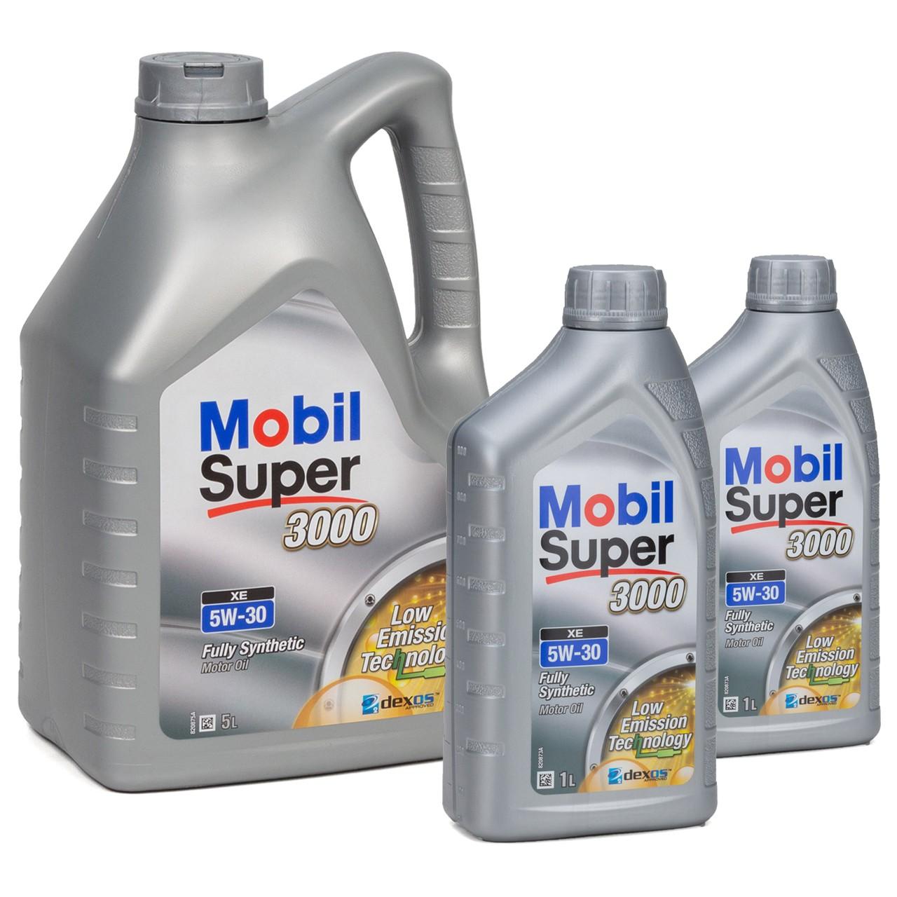 Mobil 3000 SUPER XE Motoröl Öl 5W-30 5W30 dexos2 VW 505.00/505.01 - 7L 7 Liter