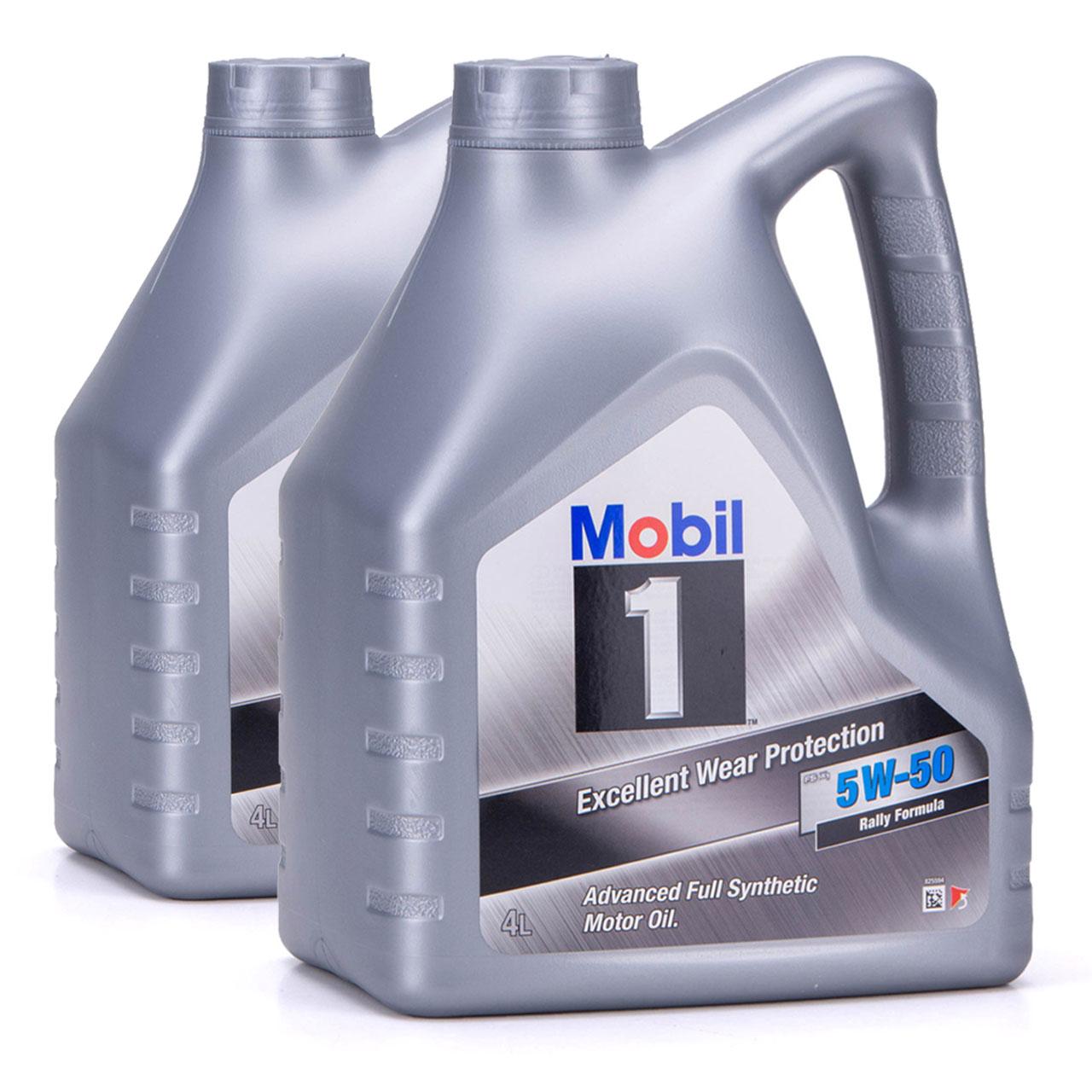 Mobil 1 FS X1 Motoröl Öl 5W-50 5W50 PORSCHE A40 MB 229.3 / 229.1 - 8L 8 Liter