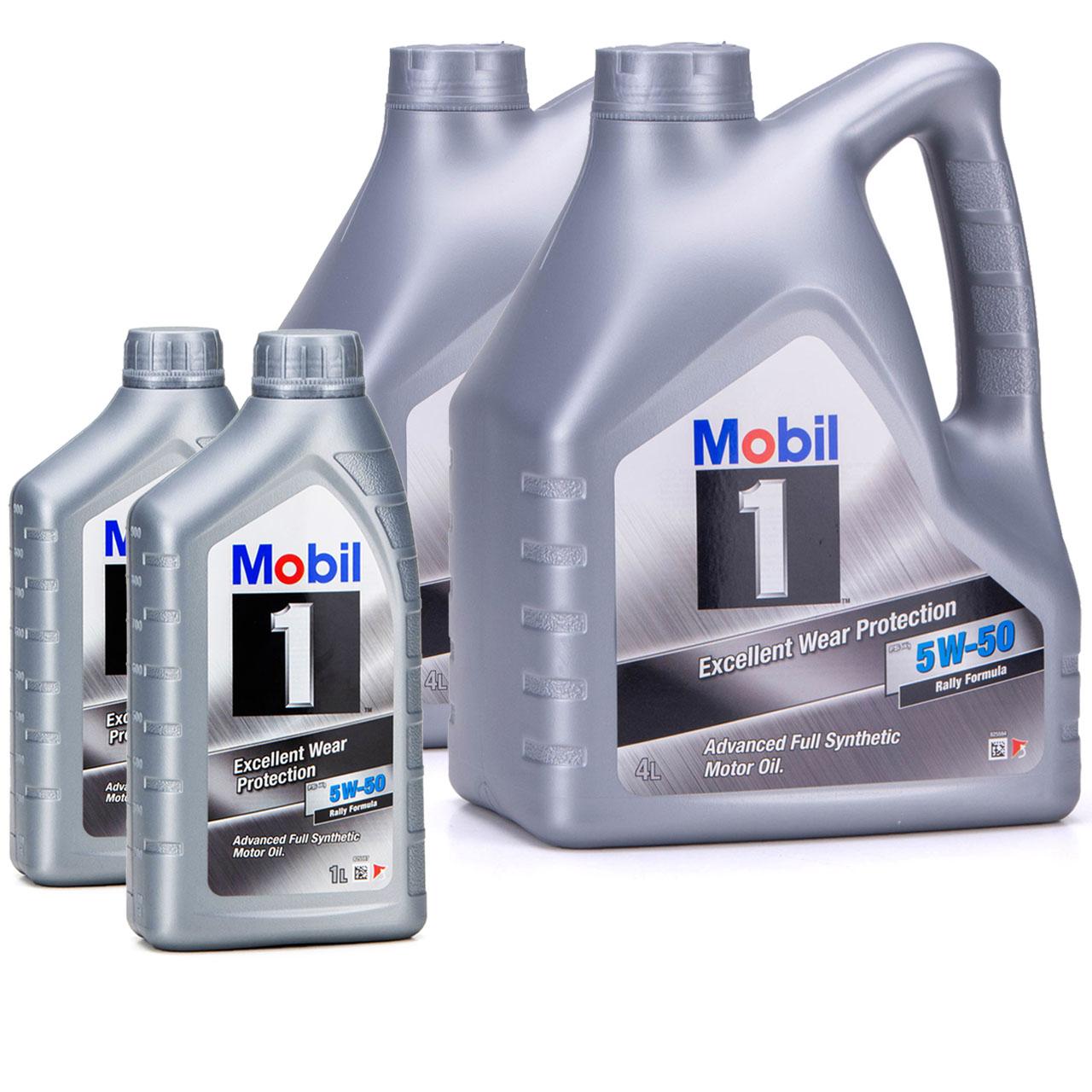 Mobil 1 FS X1 Motoröl Öl 5W-50 5W50 PORSCHE A40 MB 229.3 / 229.1 - 10L 10 Liter