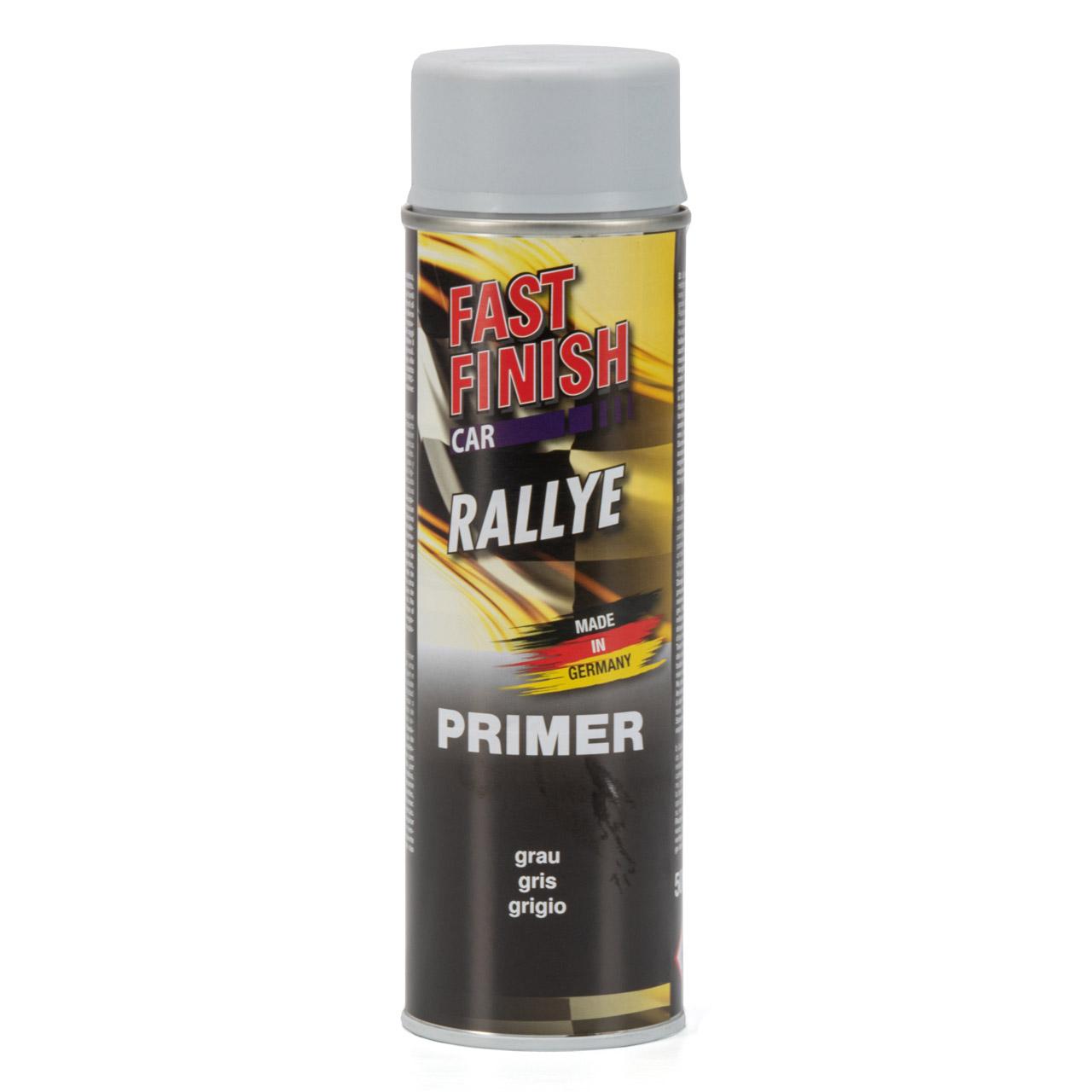 FAST FINISH Car Rallye Haftgrund Grundierung Grau Spraydose 500ml 292811