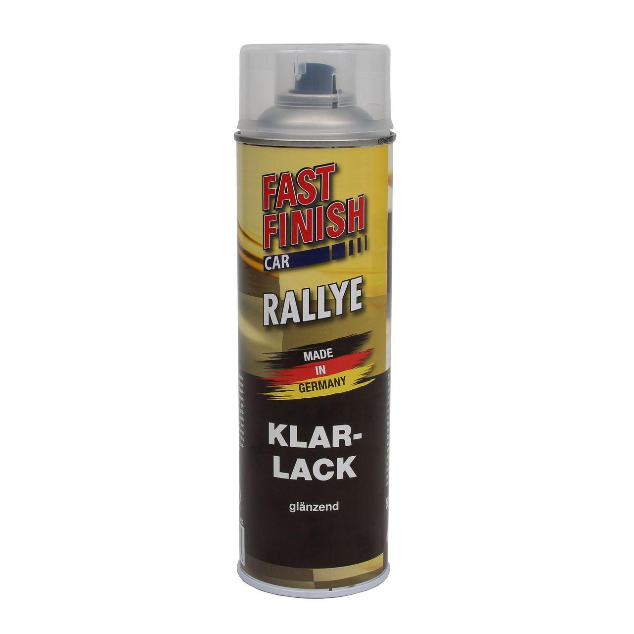 FAST FINISH Car Rallye Klarlack Lackspray glänzend Spraydose 500ml 292859