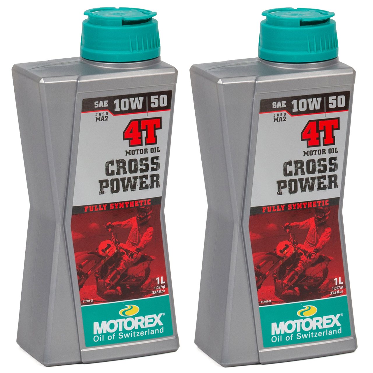 MOTOREX Cross Power 4T Motoröl Öl 10W50 JASO MA2 API SN/SM/SL - 2L 2 Liter