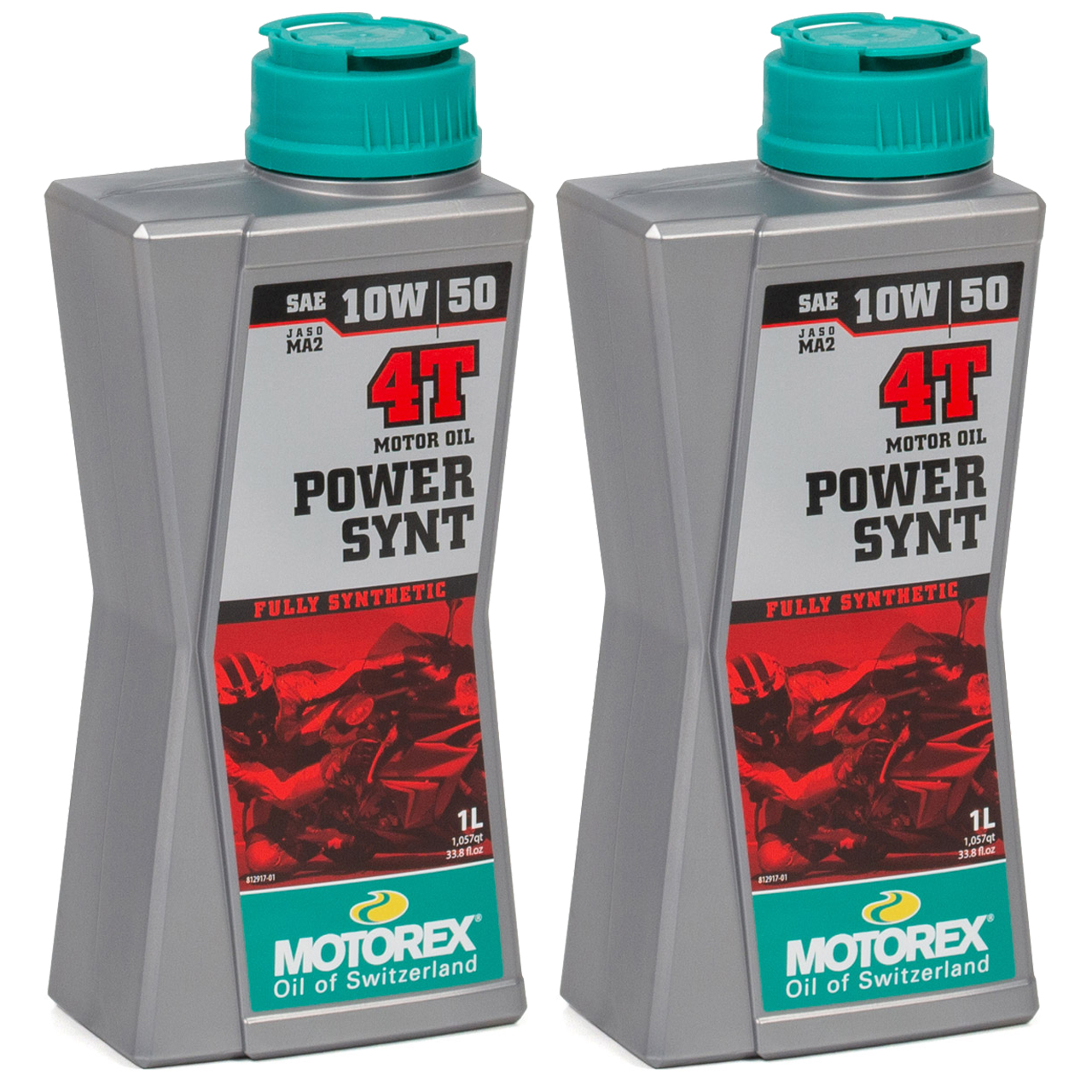 MOTOREX Power Synt 4T Motoröl Öl 10W50 JASO MA2 API SN/SM/SL - 2L 2 Liter