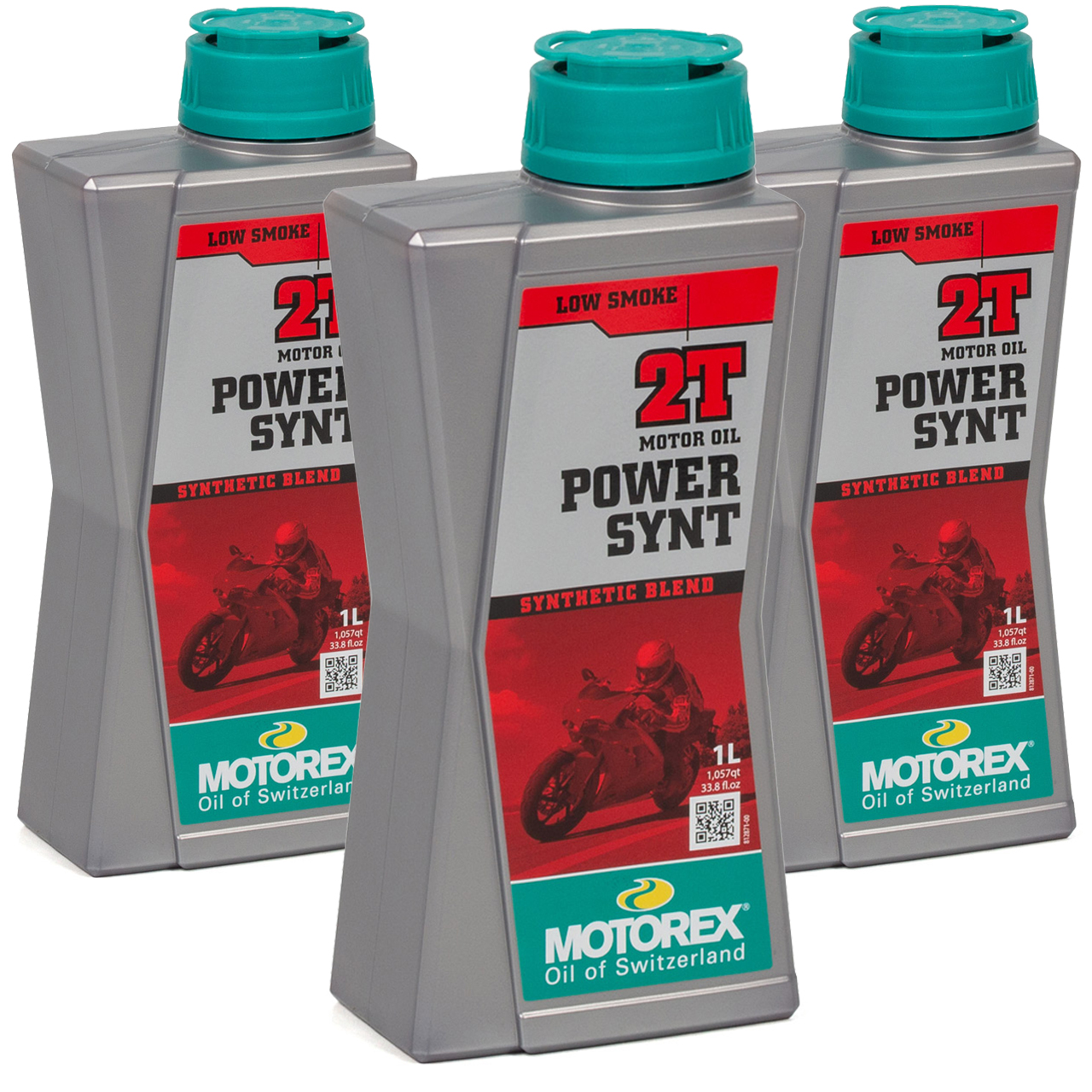 MOTOREX Power Synt 2T LOW SMOKE Motoröl API TC JASO FD ISO-L-EGD - 3L 3 Liter