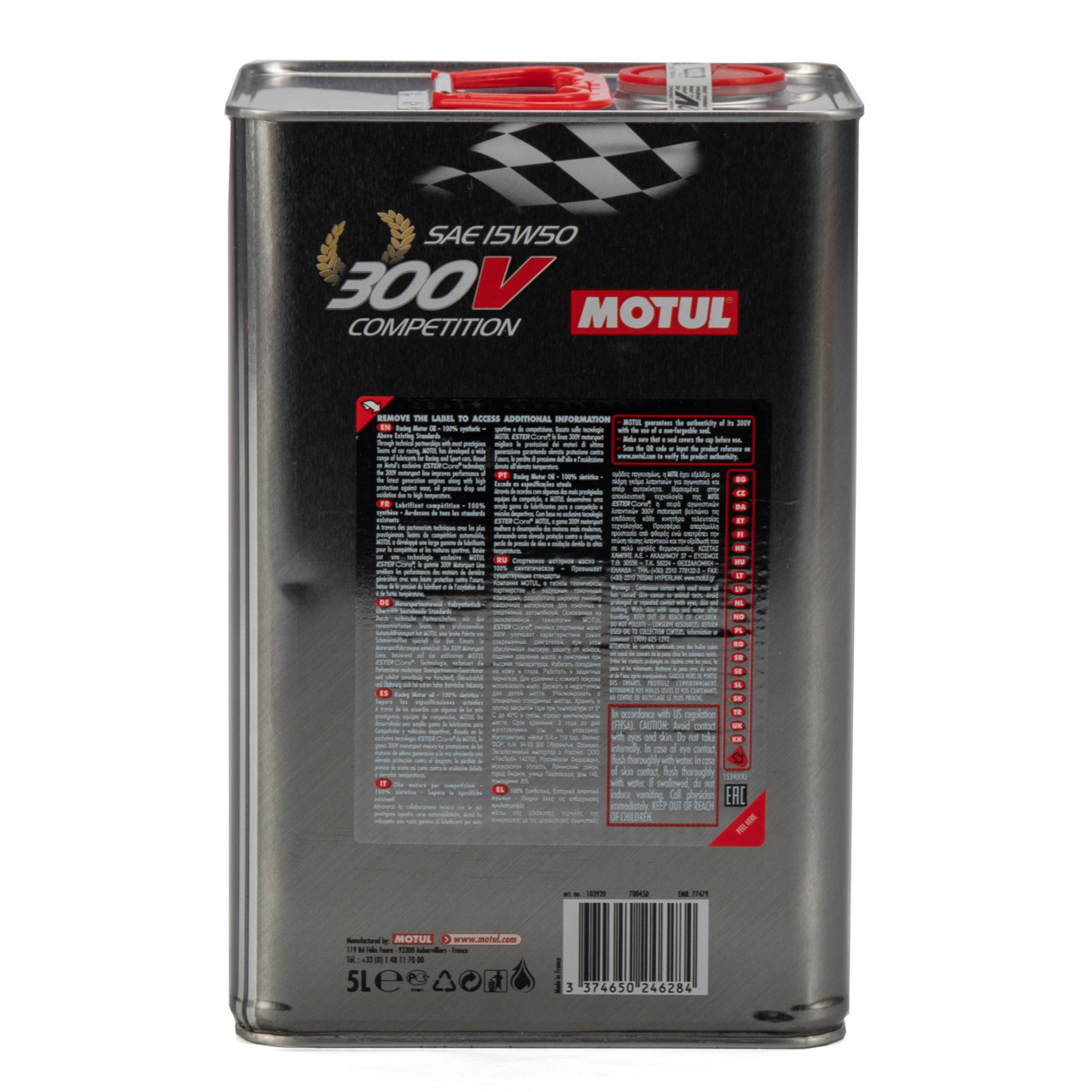 MOTUL 300 V Competition ESTER Core RACING Motoröl Öl 15W-50 15W50 - 5L 5 Liter