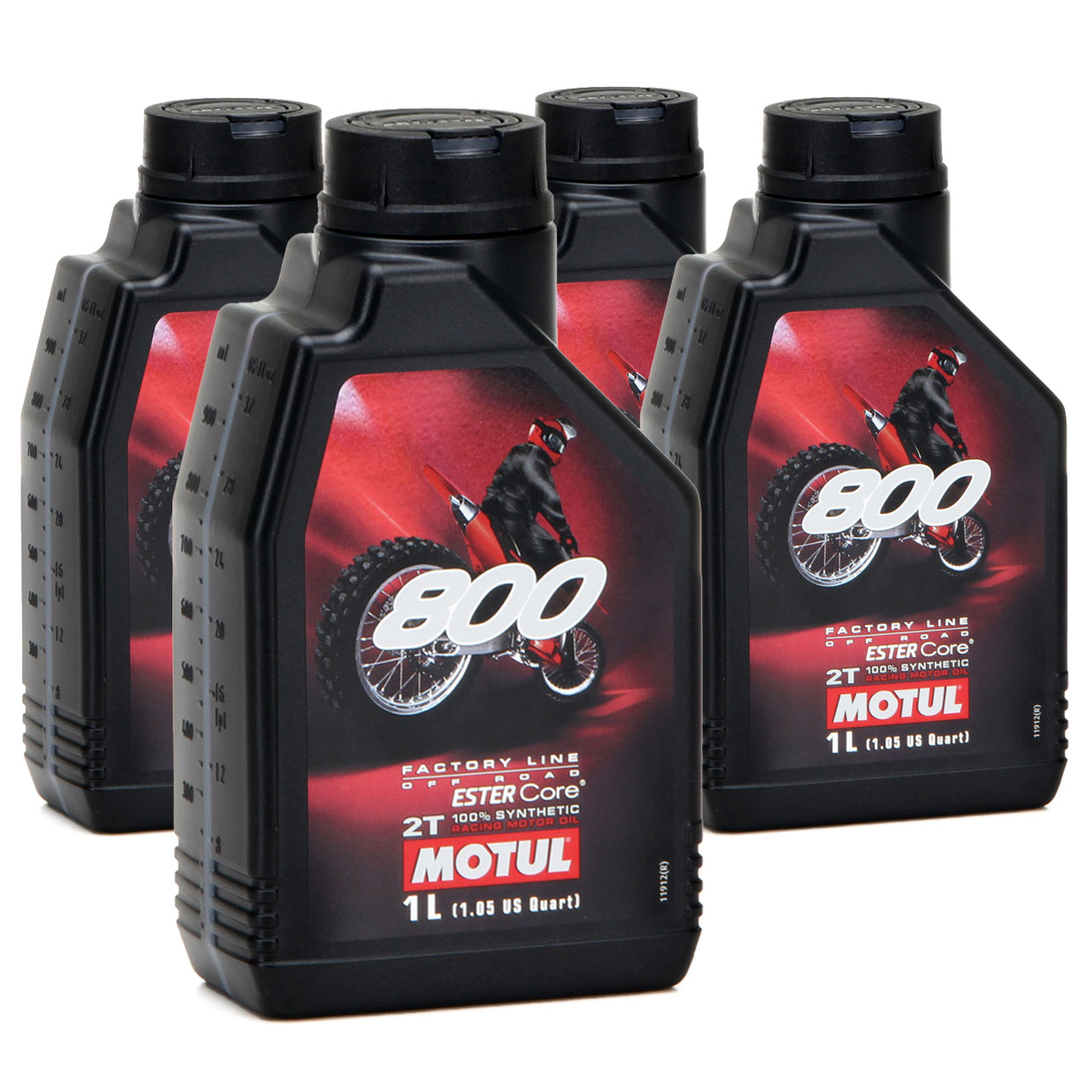 MOTUL 800 2T 2-TAKT Motoröl Öl OFF ROAD Factory Line ESTER Core - 4L 4 Liter