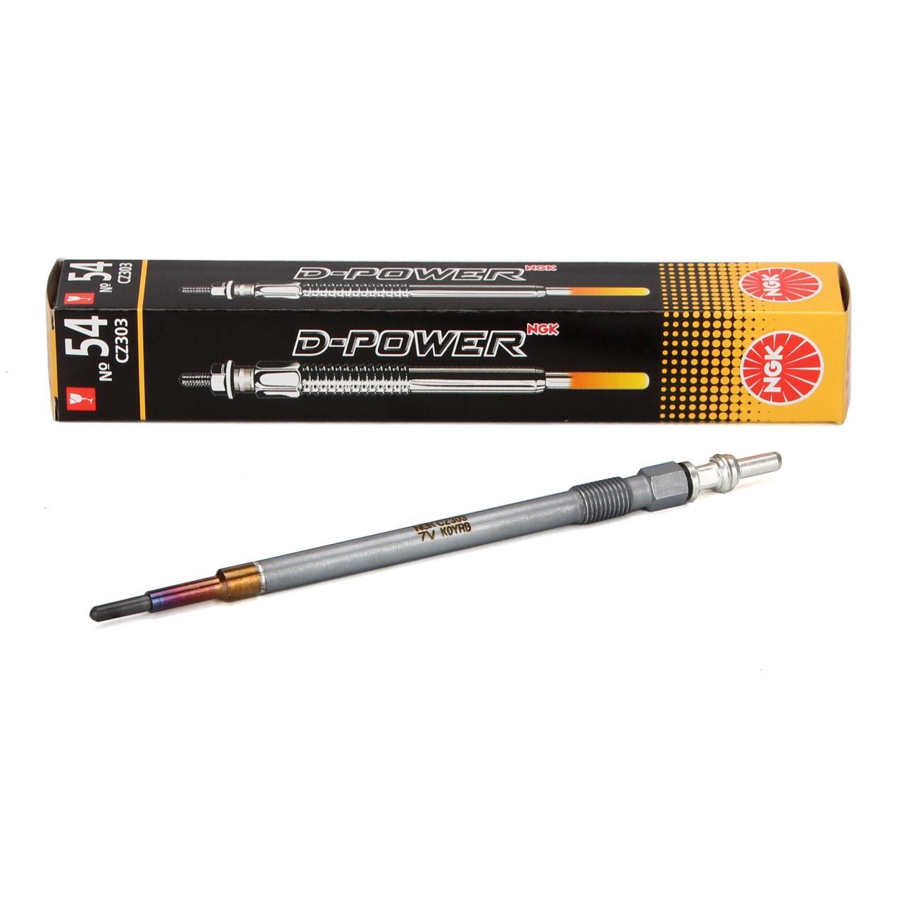 NGK 7865 CZ303 D-Power 54 Glühkerze MERCEDES W176 W245 W246 W204 W211 W212