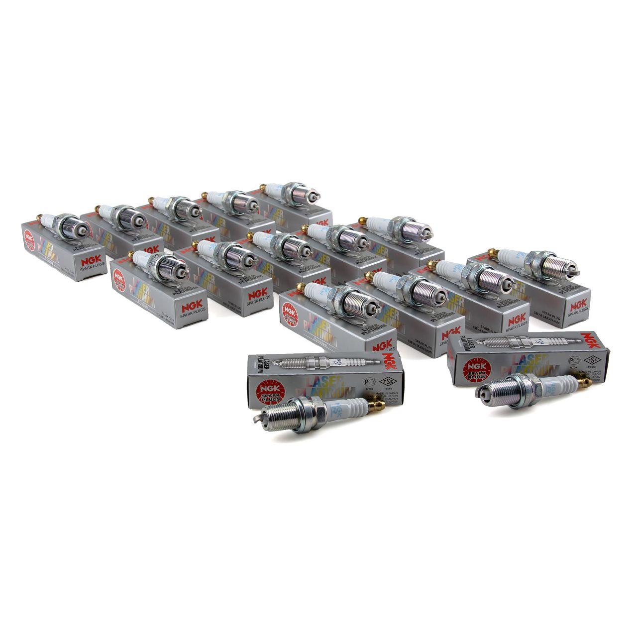 19x NGK 4292 Zündkerzen PFR5R-11 für MERCEDES W202 W203 W210 W211 W163 W220