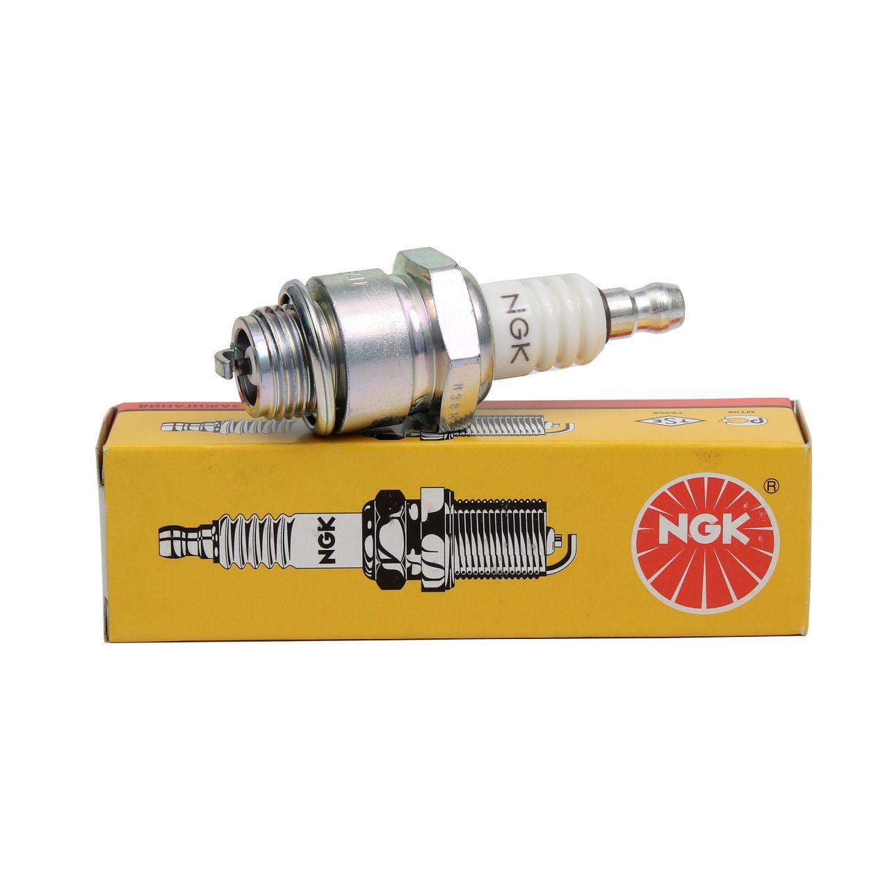 NGK Zündkerze 3410 B4LM für Kleinmotoren Gartengeräte Rasenmäher Motorsäge