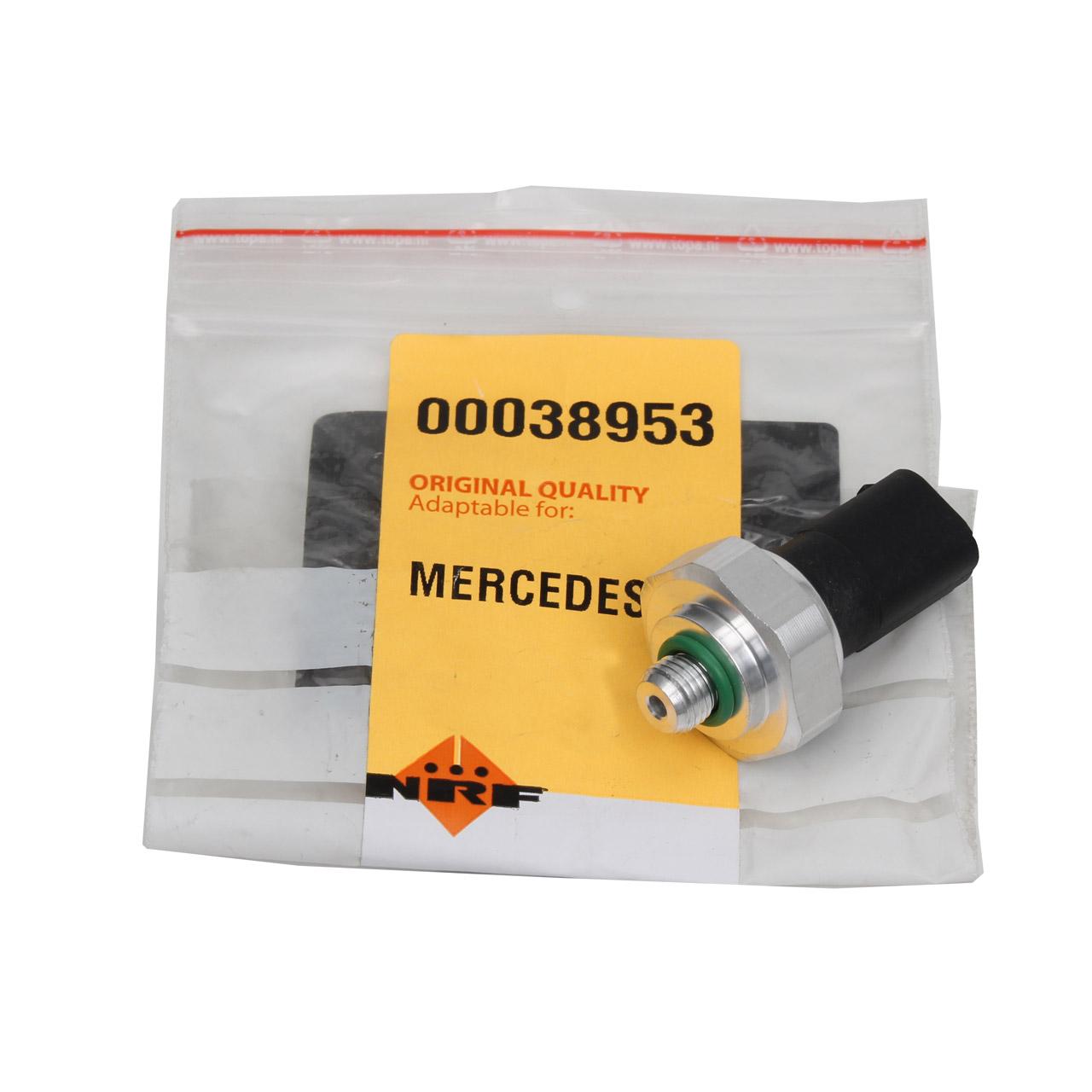 NRF 38953 Druckschalter Klimaanlage MERCEDES W203 W212 W222 SLK R171 W164 Sprinter 3t-5t