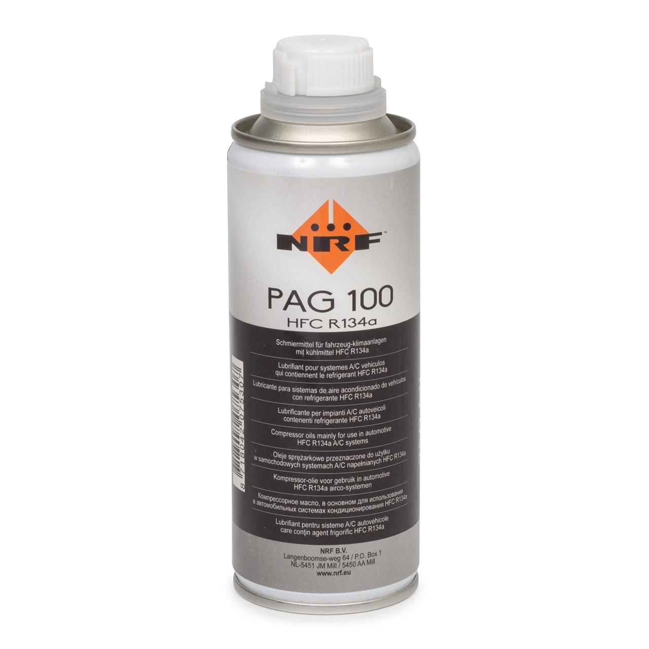 NRF 38816 Kompressor Öl Kompressoröl Klimaanlagenöl PAG 100 HFC R134a 250ml