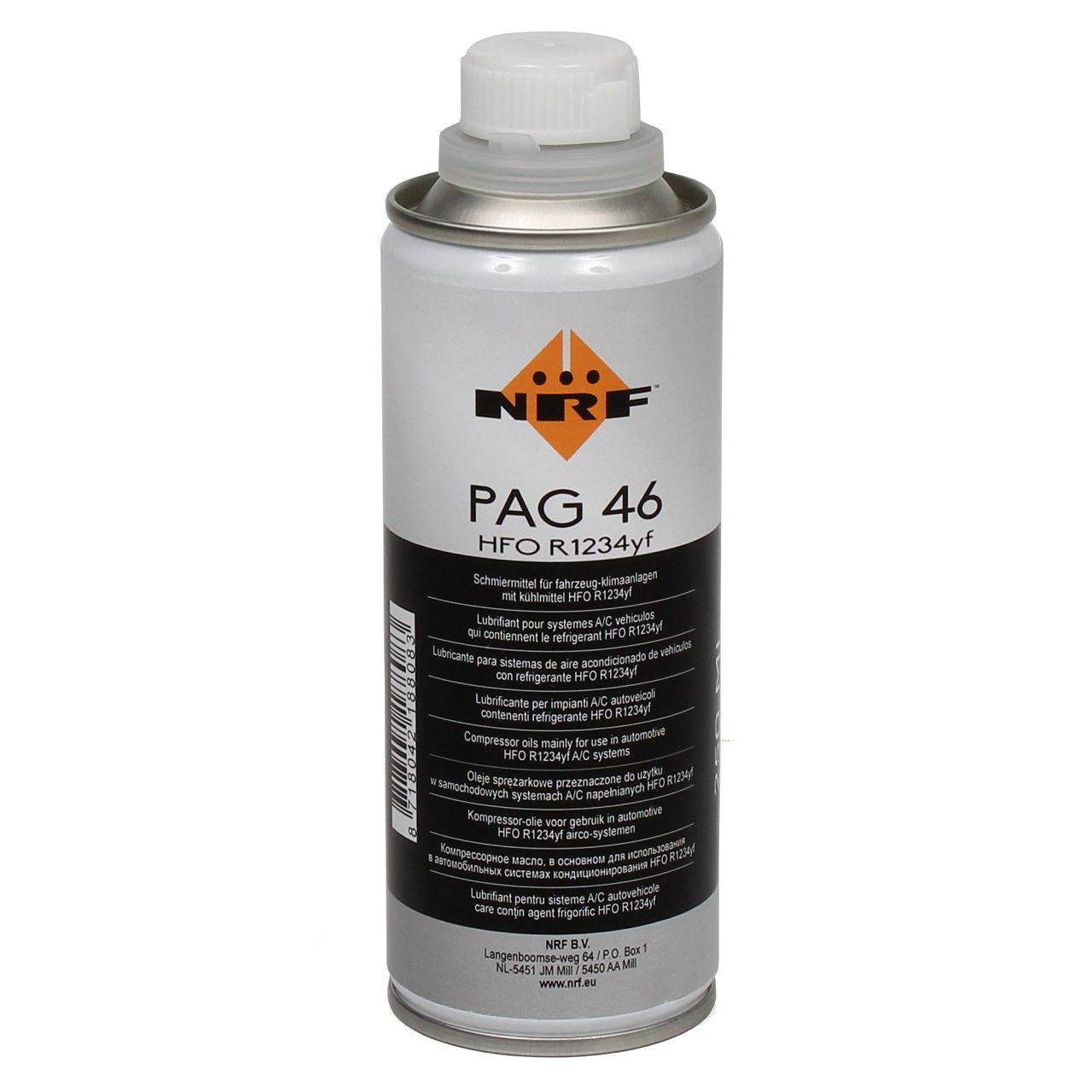 NRF 38837 Kompressor-ÖL Schmiermittel PAG 46 mit Kühlmittel HFO R1234yf 250ml