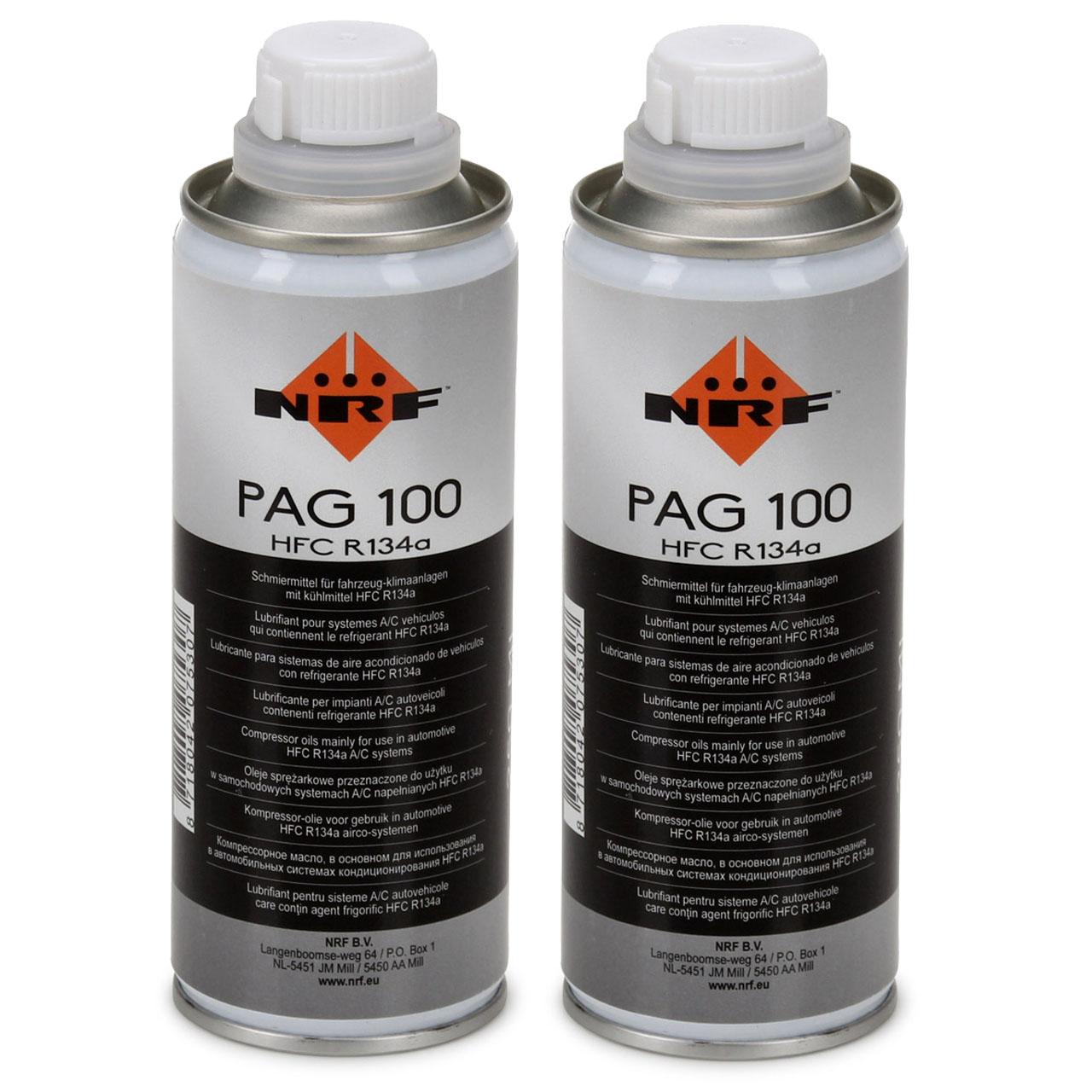NRF 38816 Kompressor Öl Kompressoröl Klimaanlagenöl PAG 100 HFC R134a 500ml