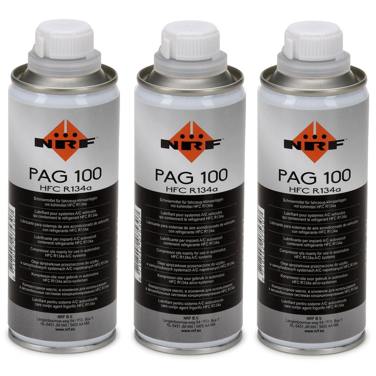 NRF 38816 Kompressor Öl Kompressoröl Klimaanlagenöl PAG 100 HFC R134a 750ml