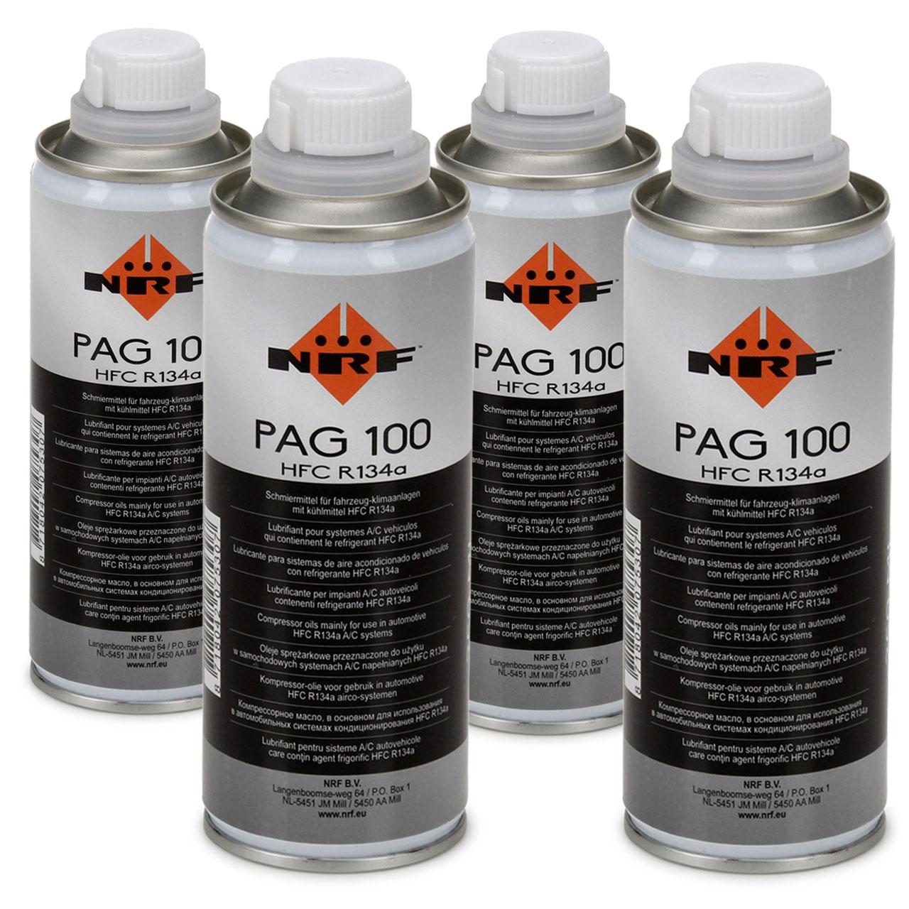 NRF 38816 Kompressor Öl Kompressoröl Klimaanlagenöl PAG 100 HFC R134a 1000ml