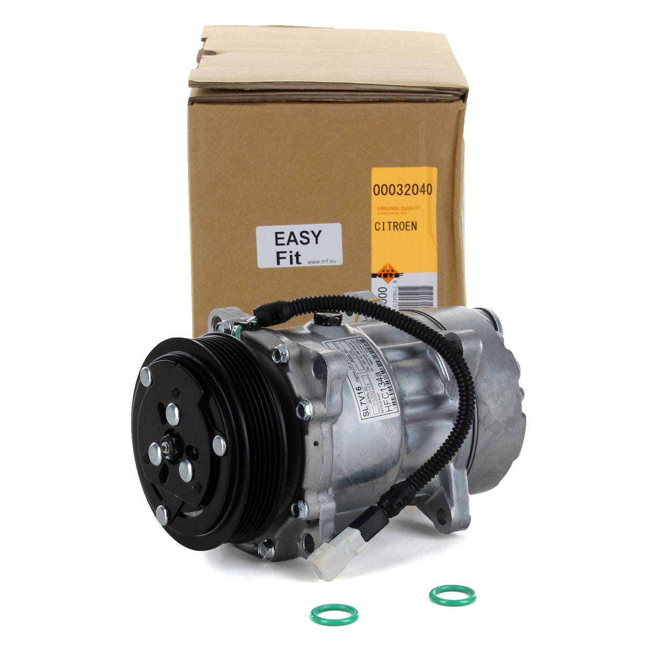 NRF 32040 Kompressor Klimaanlage EASY FIT für CITROEN FIAT LANCIA PEUGEOT