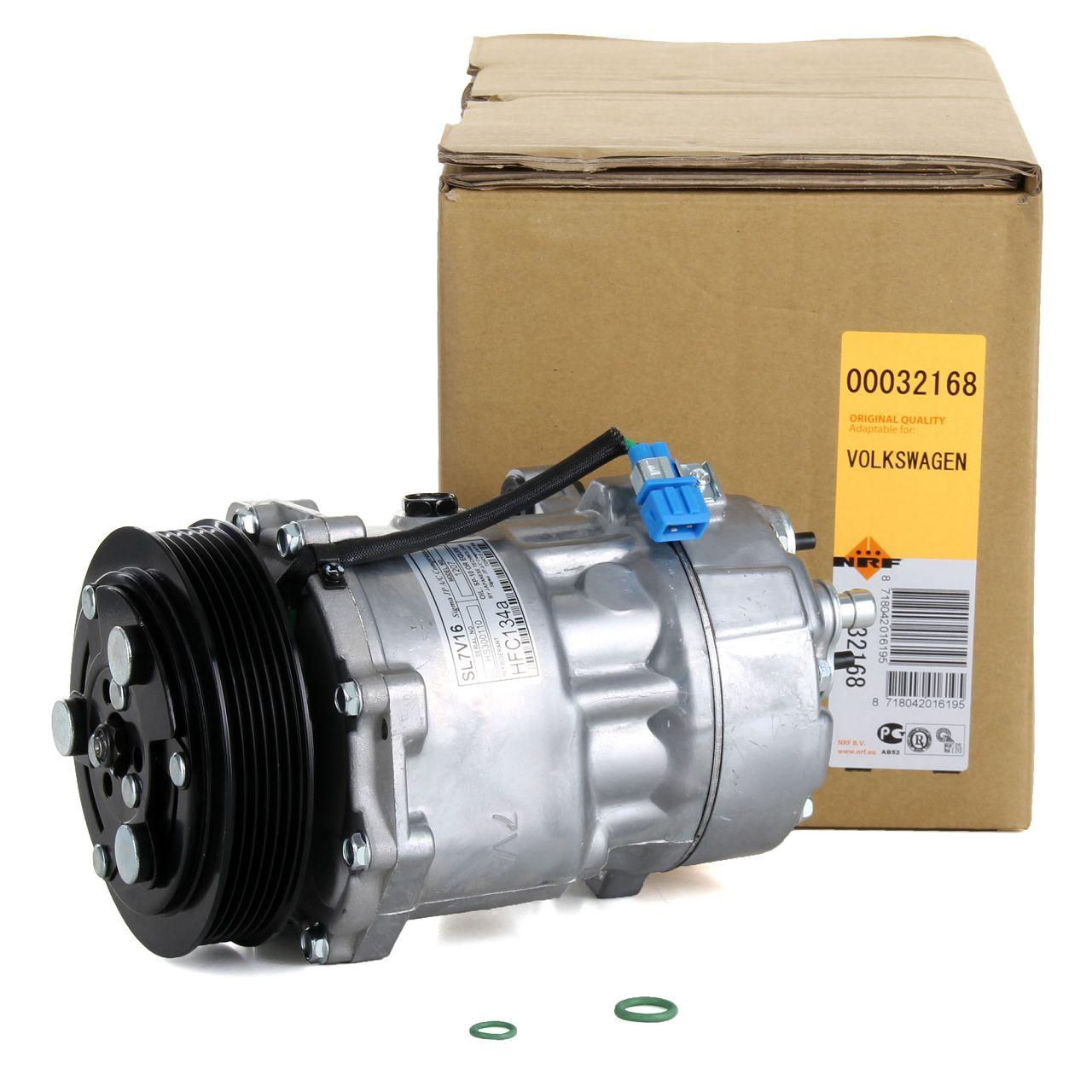 NRF 32168 Kompressor Klimaanlage EASY FIT für VW LT 28-35/46 II TRANSPORTER T4