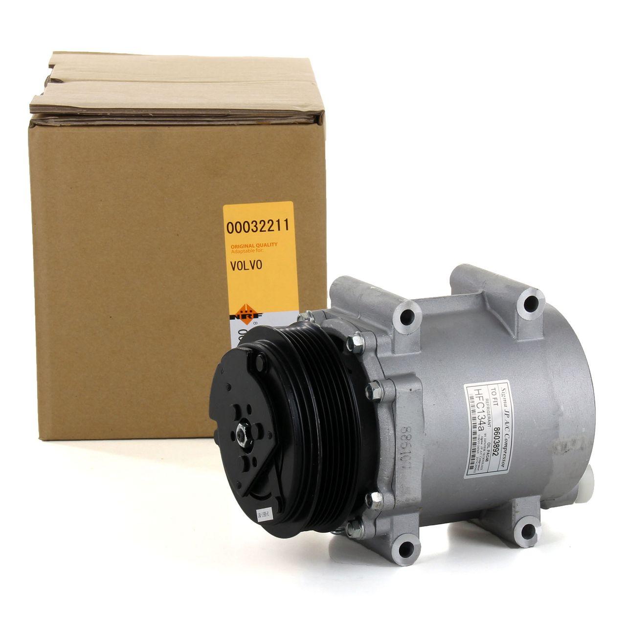 NRF 32211 Kompressor Klimaanlage EASY FIT für VOLVO S60 I S80 I V70 II XC90 I