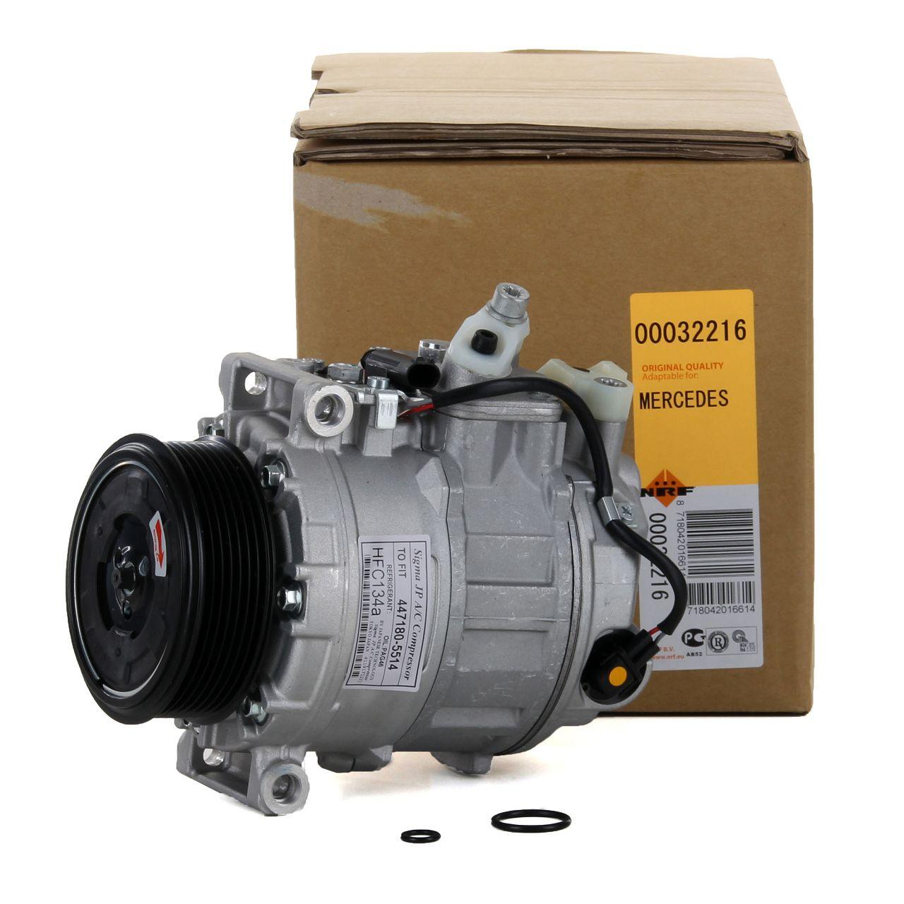 NRF 32216 Kompressor Klimaanlage EASY FIT für MERCEDES W203 W211 W163 W220 W221