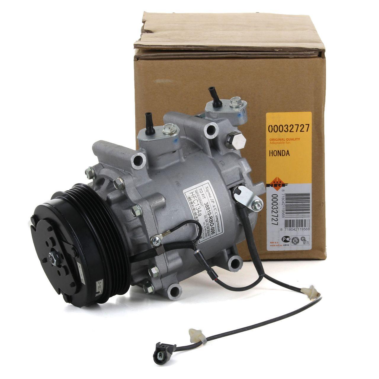 NRF 32727 Kompressor Klimaanlage EASY FIT für HONDA JAZZ III 1.2 1.3i 1.4