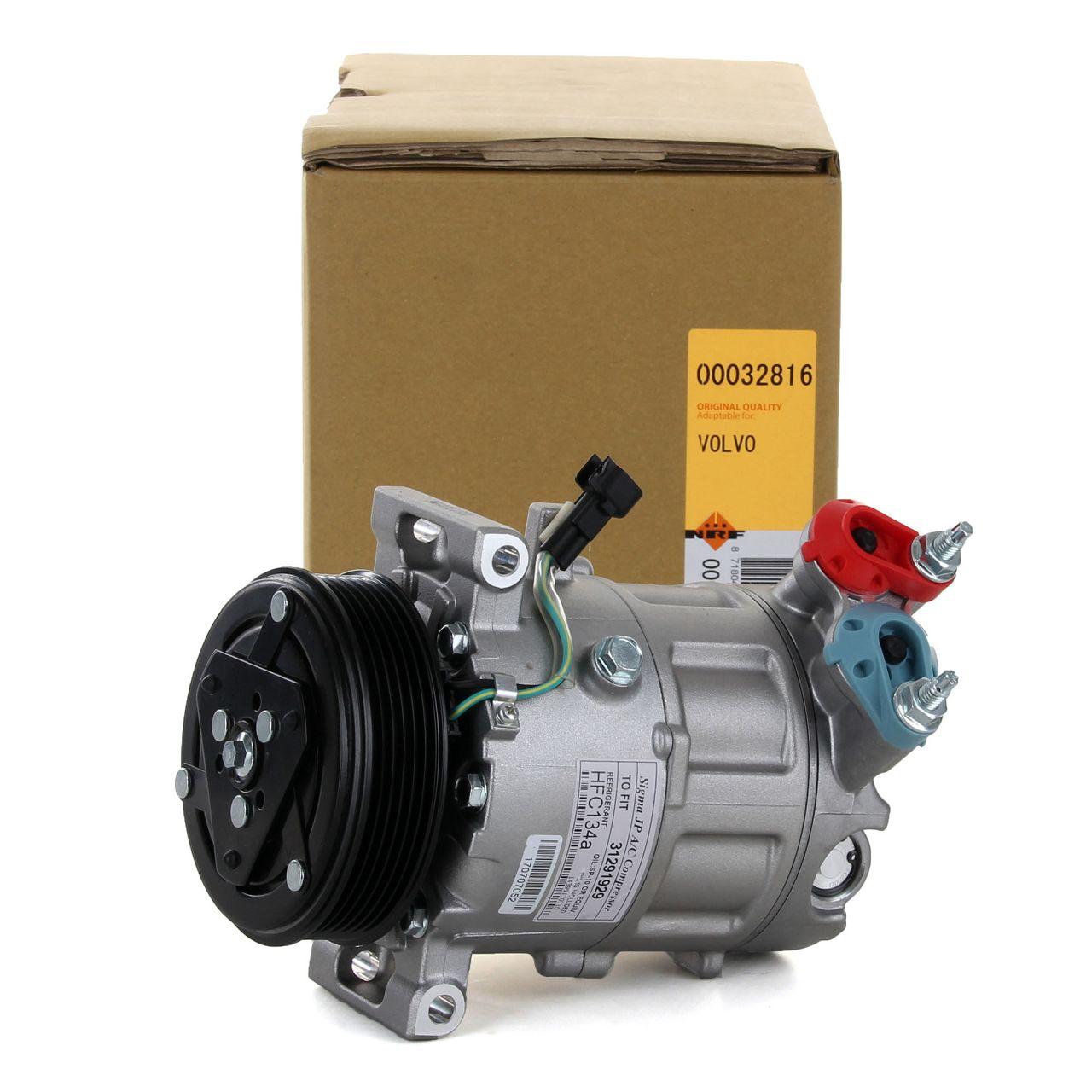 NRF 32816 Kompressor Klimaanlage EASY FIT für FORD MAZDA VOLVO 1.5 / 1.6 DIESEL