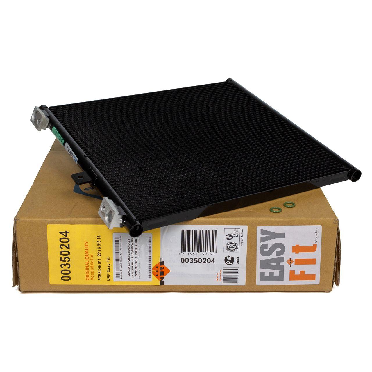 NRF 350204 Kondensator Klimakondensator EASY FIT PORSCHE 911 991 Cabrio Spyder 99157311104