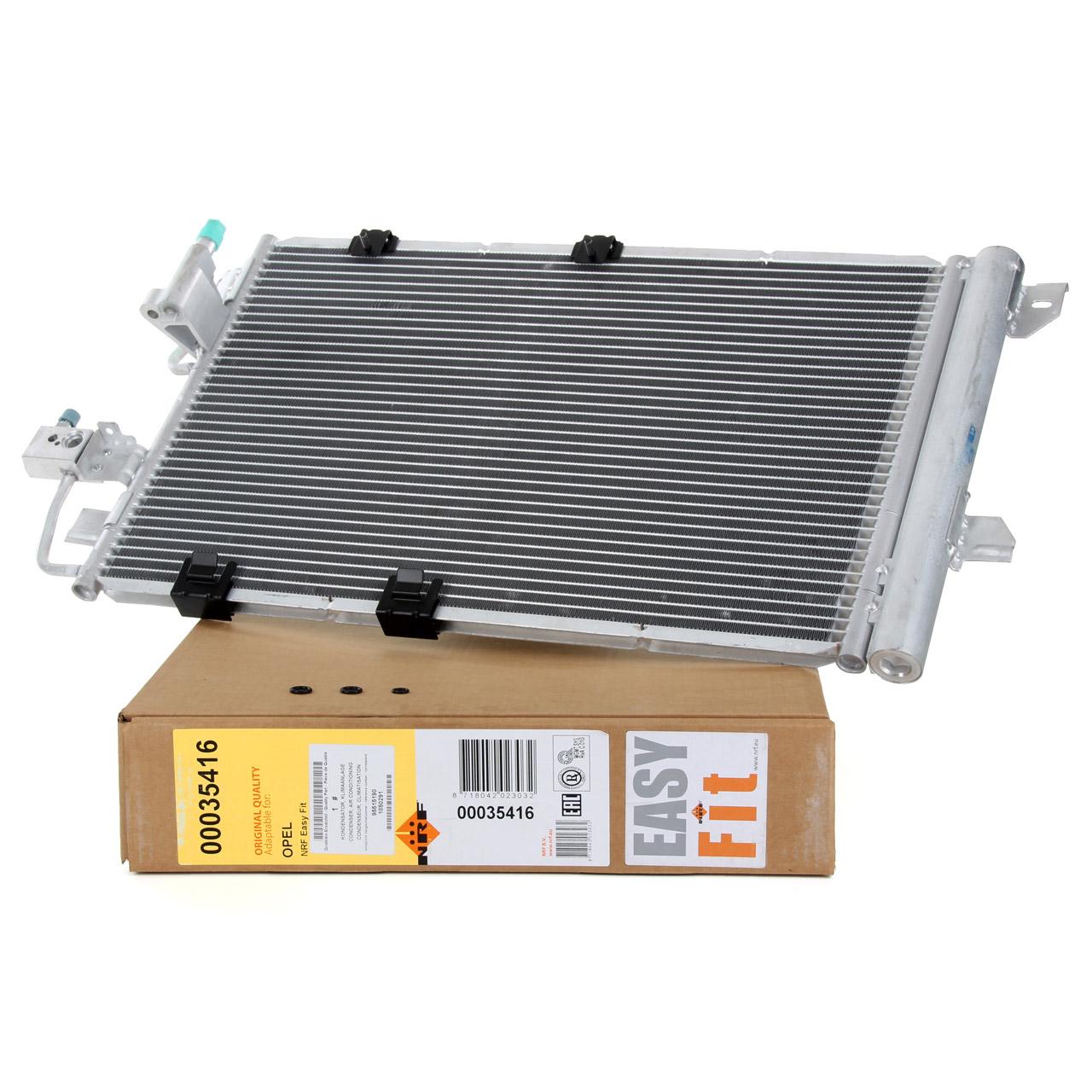 NRF 35416 Kondensator Klimakondensator EASY FIT OPEL Astra G T98 F70 Zafira A T98 13192901