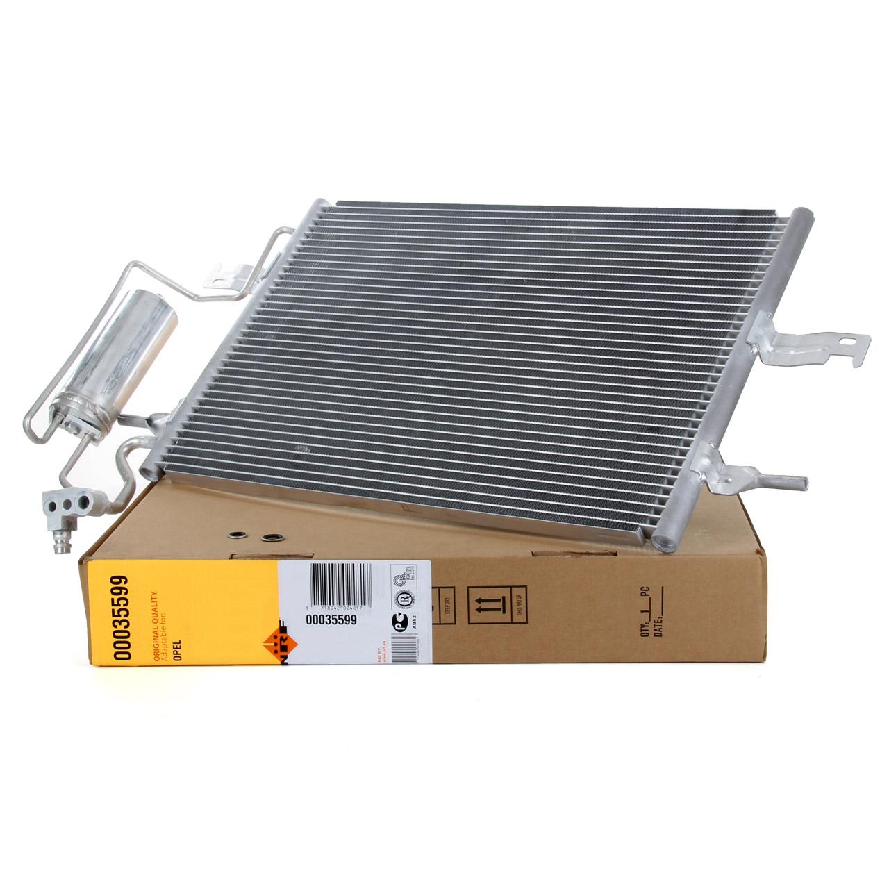 NRF 35599 Kondensator Klimakondensator EASY FIT OPEL Meriva A X03 1.4-1.8 1.7 DTI 13128931