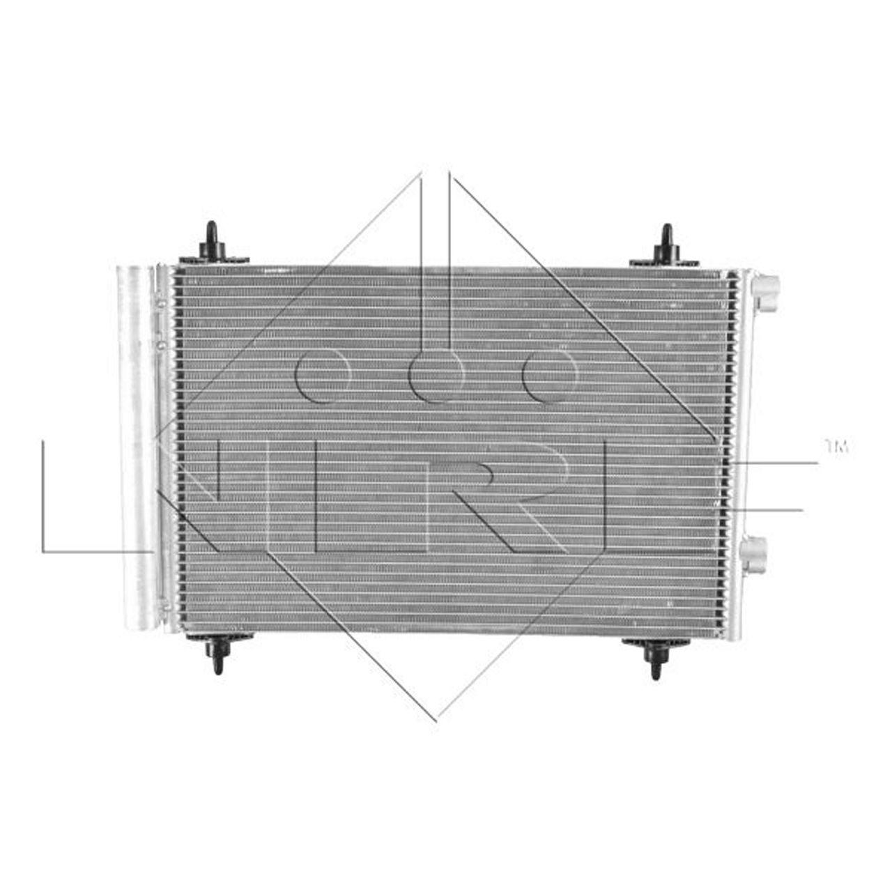 NRF 35611 EASY FIT Kondensator PEUGEOT 307 1.4-2.0/ HDI 308 1 1.6 CITROEN C4 1 Berlingo B9