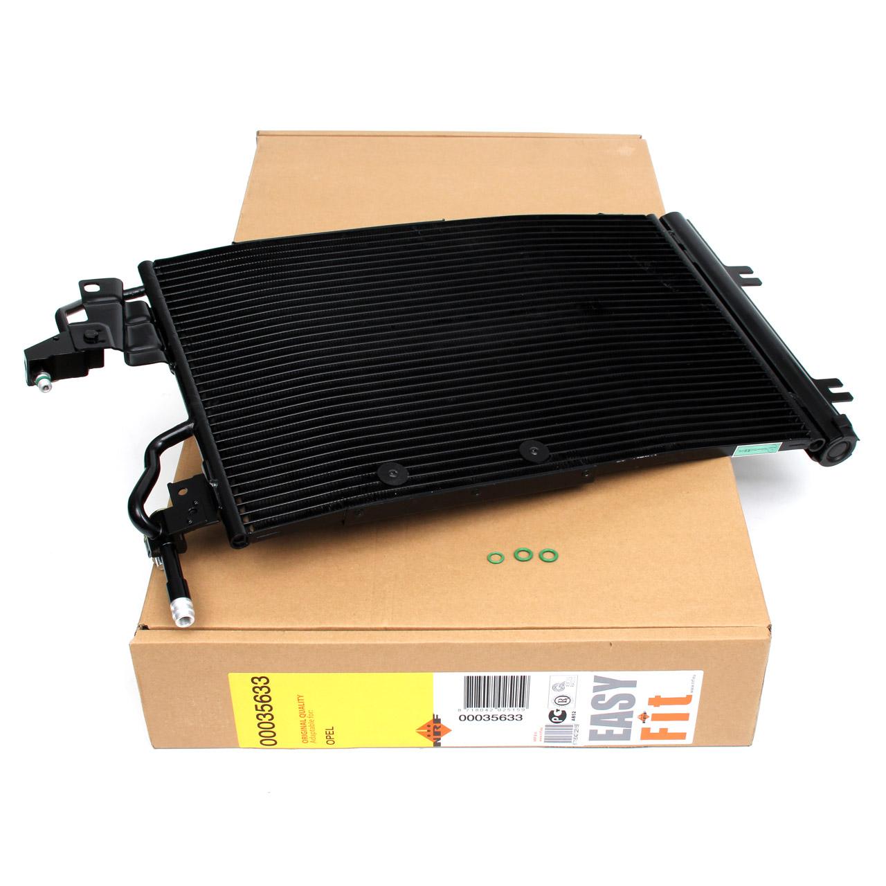 NRF 35633 Kondensator Klimakondensator EASY FIT OPEL Astra H A04 L70 Zafira B A05 13171592