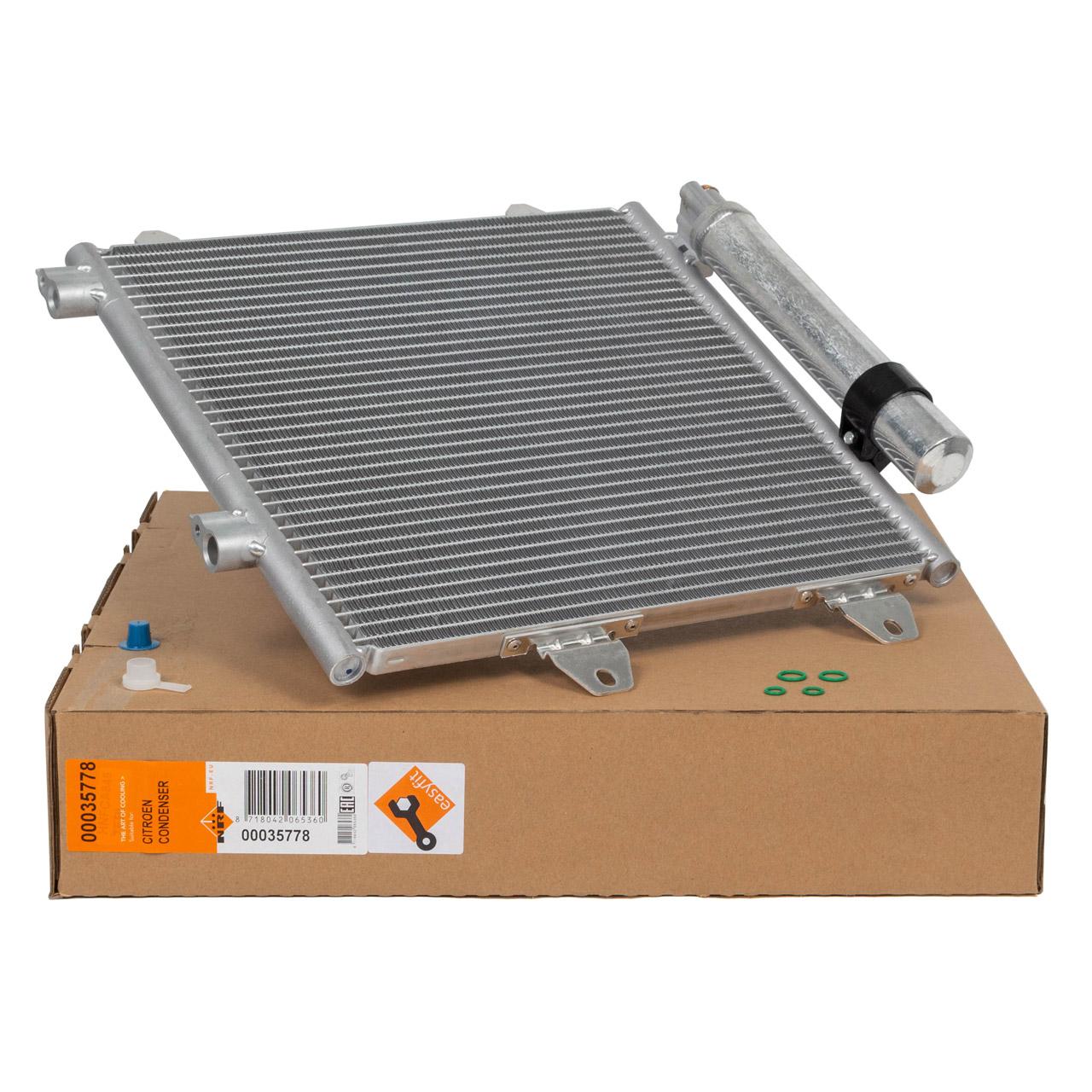 NRF 35778 EASY FIT Kondensator TOYOTA Aygo B1 PEUGEOT 107 PM CITROEN C1 PM 1.0 1.4 HDI