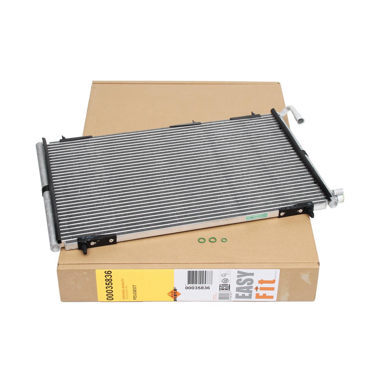 NRF 35836 Kondensator Klimakondensator EASY FIT PEUGEOT 206 SW 206 CC 2D 206+ 2L E163306