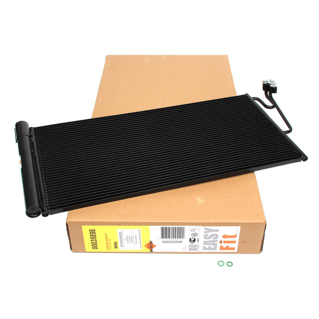 NRF 35898 Kondensator Klimakondensator EASY FIT MINI R55 R56 R57 R60 R61 64536941084
