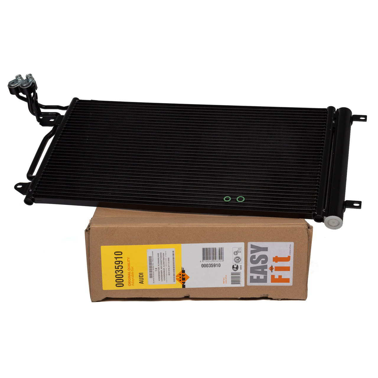 NRF Kondensator Klima EASY FIT VW Polo 6R SEAT Ibiza 4 AUDI A1 SKODA Fabia 1 2 3 6R0820411