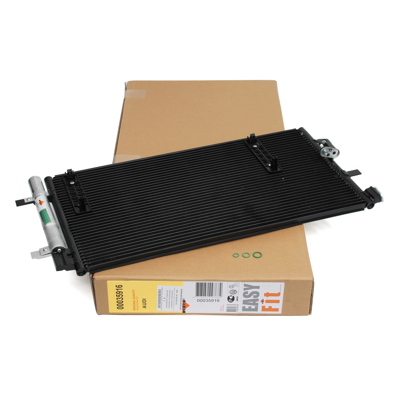 NRF 35916 Kondensator Klimakondensator EASY FIT AUDI A4 B8 A5 8T Q5 8RB 8K0260401AA