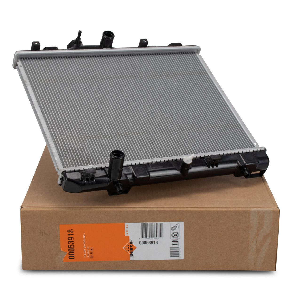 NRF 53918 Kühler Motorkühler OPEL Agila B SUZUKI Splash 1.0 1.2 4709362 / 1770073KC0