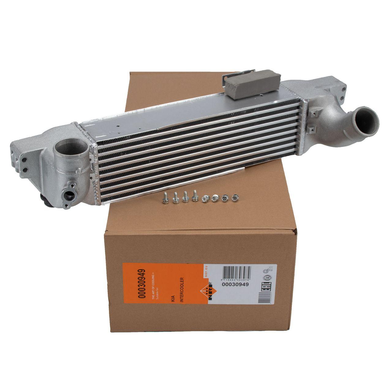 NRF Ladeluftkühler Turbo Ladeluft-Kühler für KIA SORENTO I JC 2.5CRDi 281904A470