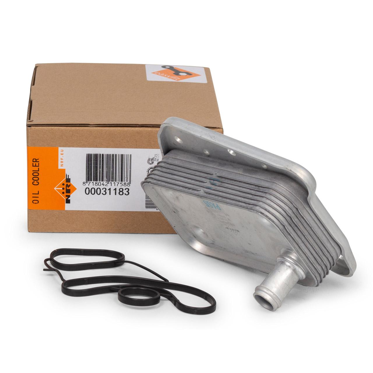 NRF Ölkühler EASY FIT MERCEDES W203 W204 W210 W211 OM611-612 OM646 6461880301 / 6121880301