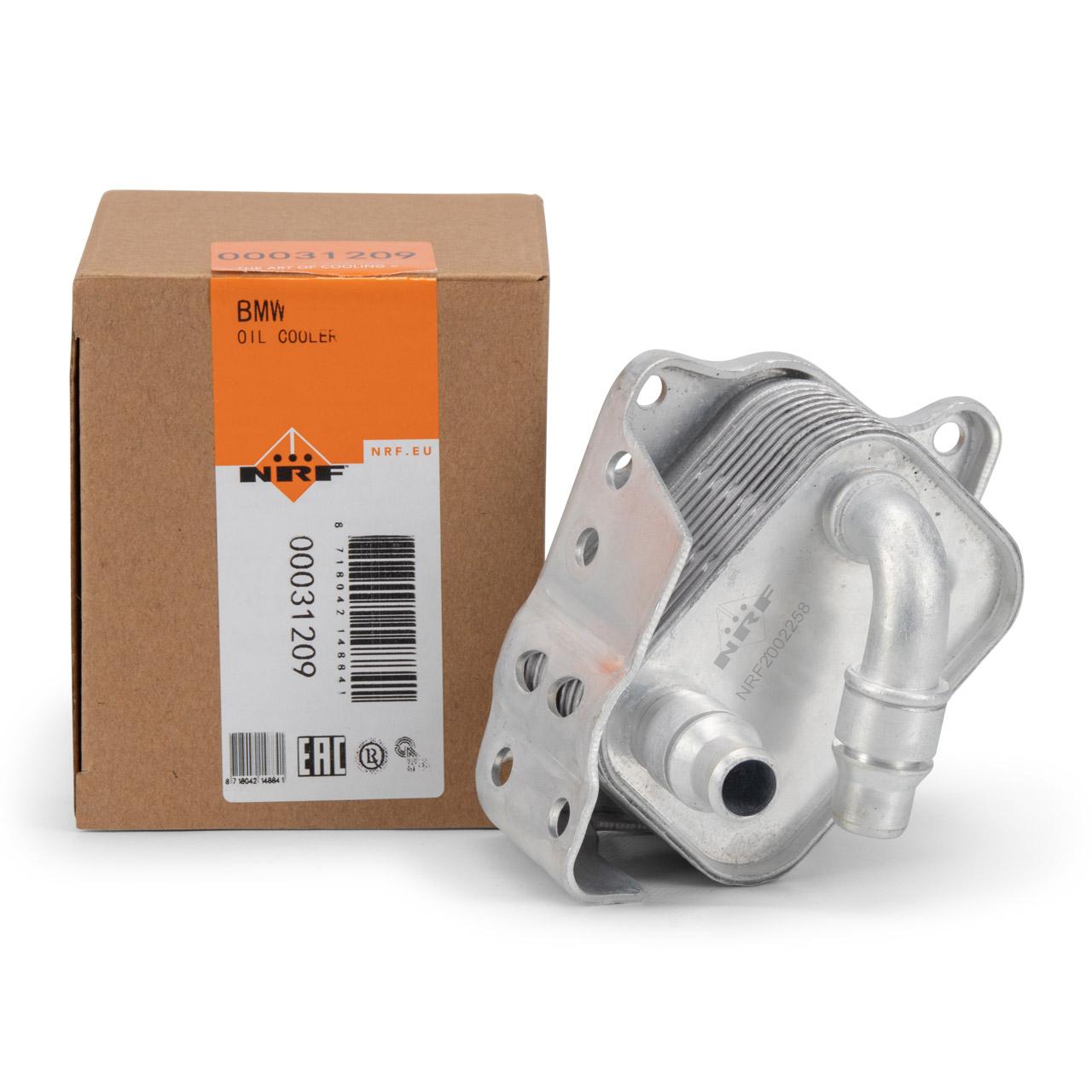 NRF Ölkühler Motorölkühler BMW 1er E81-88 3er E46 E90-93 5er E60 E61 11427508967
