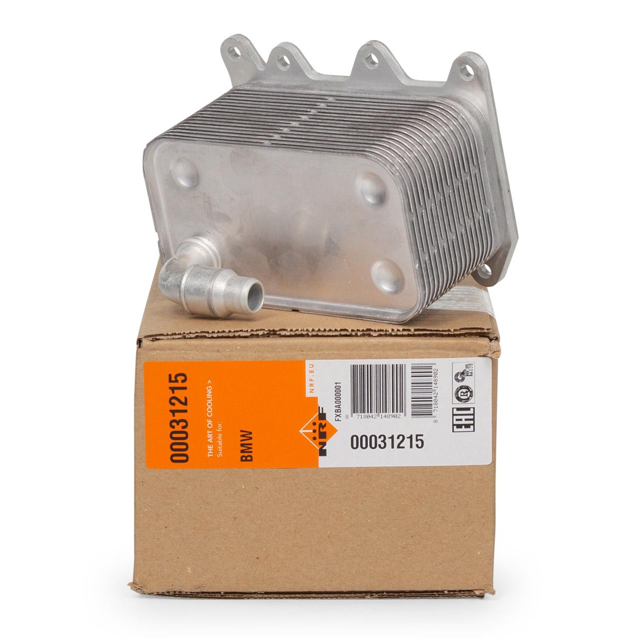 NRF Ölkühler Getriebe BMW 5er E60 E61 520-535 6er E63 E64 635d 7er E65 X3 E83 17217803830
