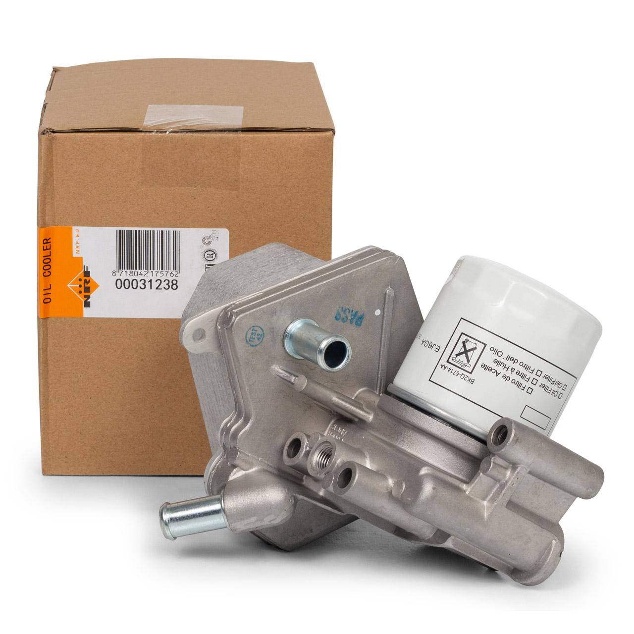 NRF Ölkühler Kühler + Filter FORD Tourneo Custom Transit / V363 2.2 TDCi 2132516